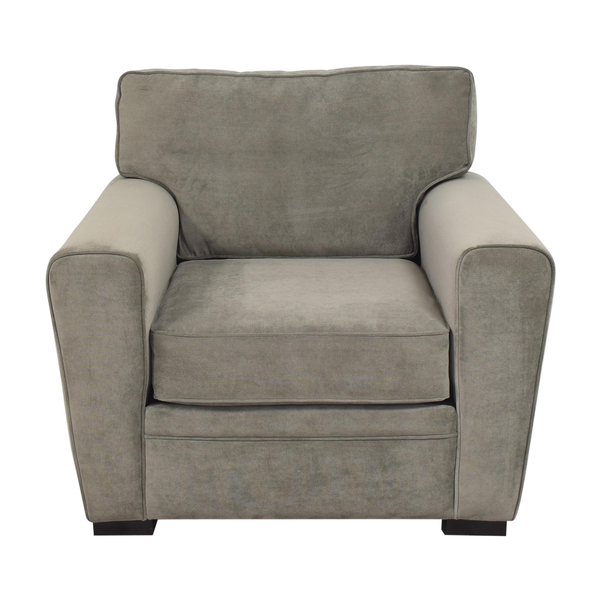 buy Raymour & Flanigan  Artemis II Track Arm Chair Raymour & Flanigan Classic Sofas