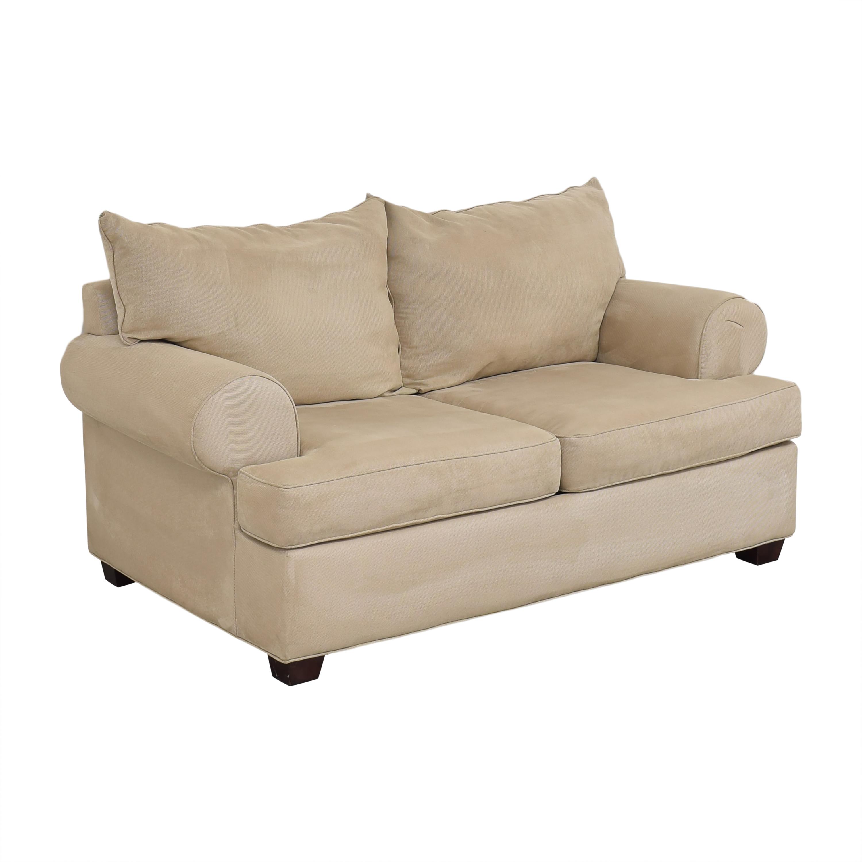 Raymour & Flanigan Raymour & Flanigan Two Cushion Loveseat discount