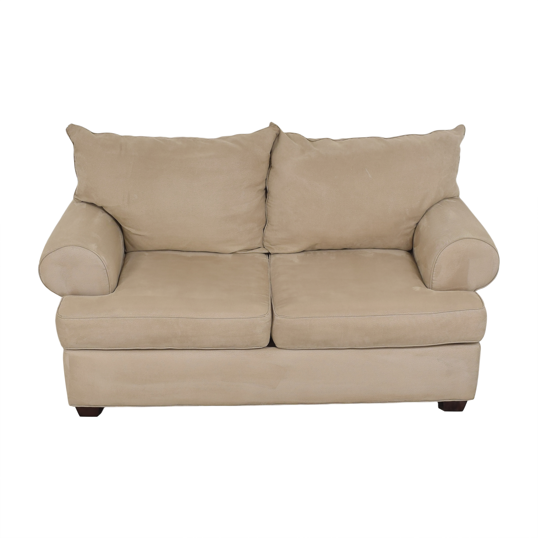 Raymour & Flanigan Raymour & Flanigan Two Cushion Loveseat ma