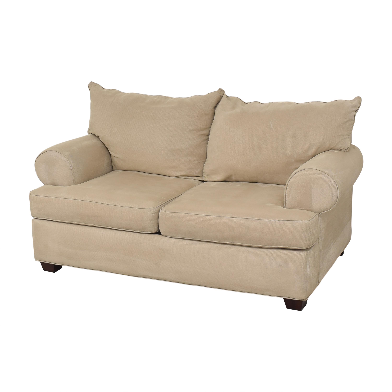 shop Raymour & Flanigan Two Cushion Loveseat Raymour & Flanigan Sofas