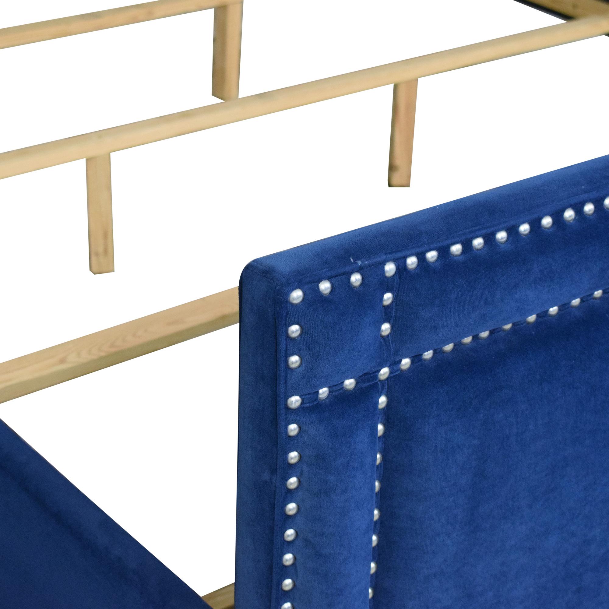 Wayfair Willa Arlo Interiors Janna Upholstered Low Profile King Bed / Beds