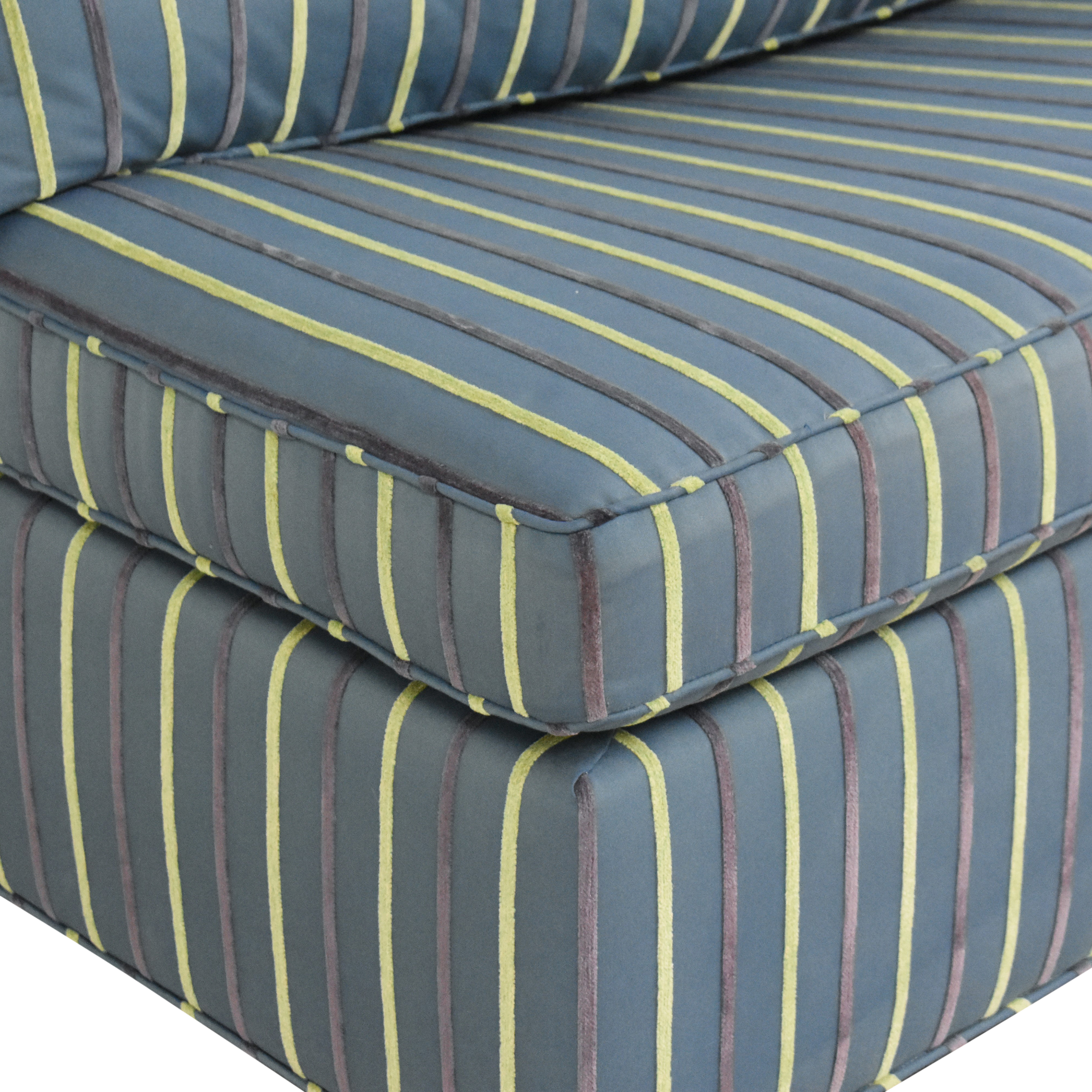 buy Carlyle Carlyle Striped Single Arm Sleeper Sofa online