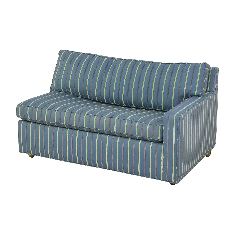 Carlyle Carlyle Striped Single Arm Sleeper Sofa Sofa Beds