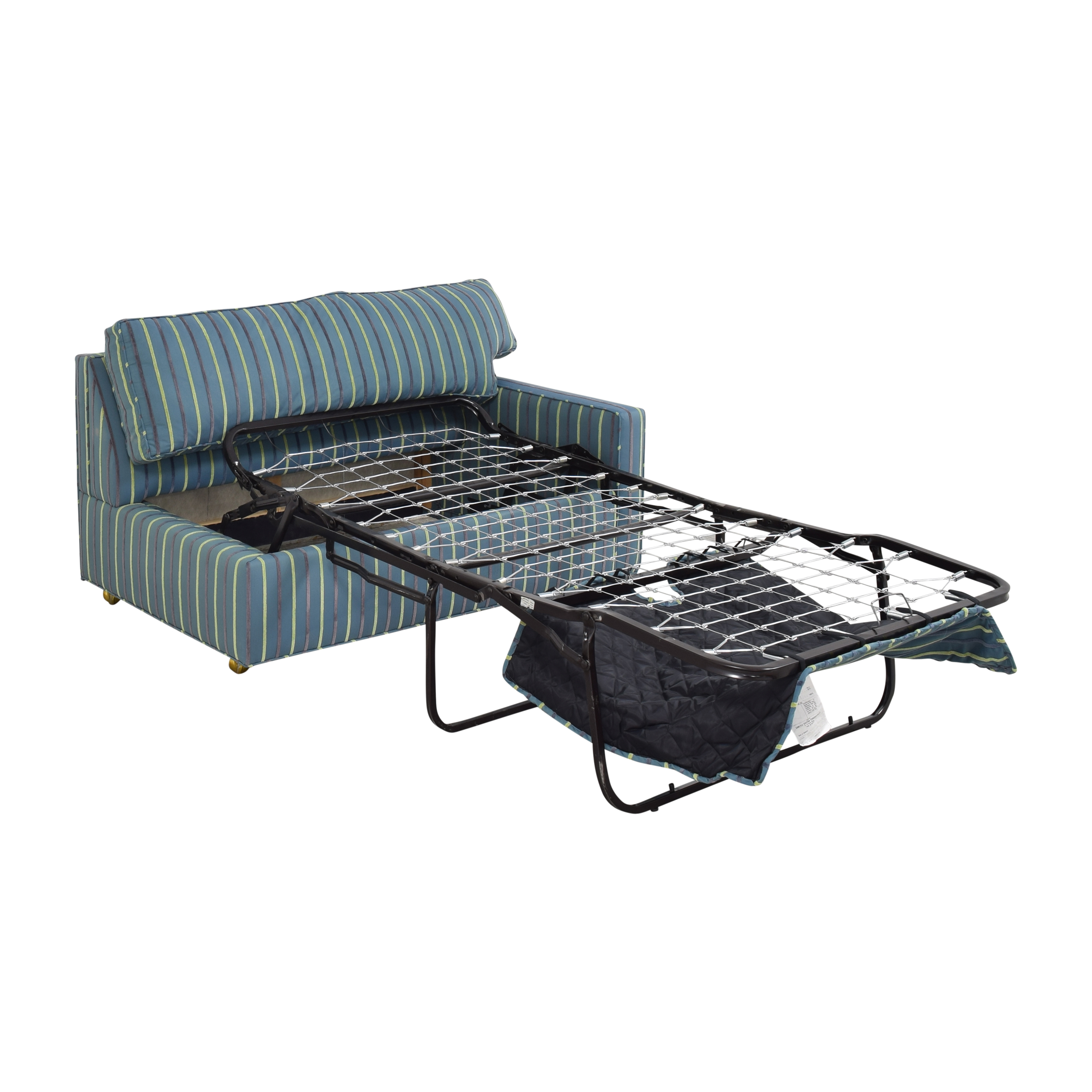Carlyle Carlyle Striped Single Arm Sleeper Sofa for sale