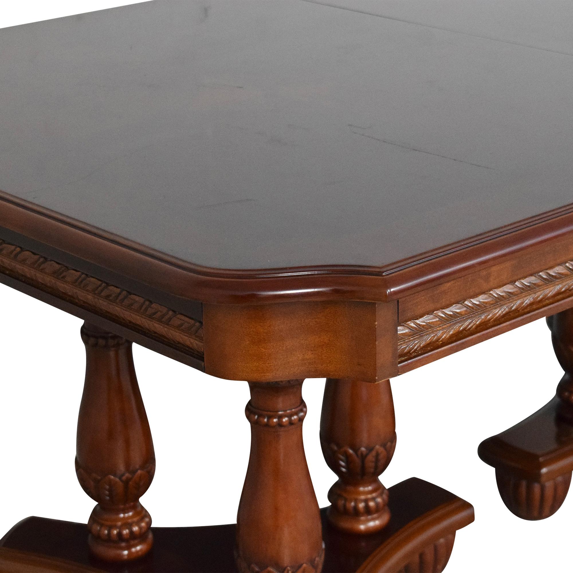 North Carolina Furniture Company North Carolina Furniture Extendable Dining Table discount