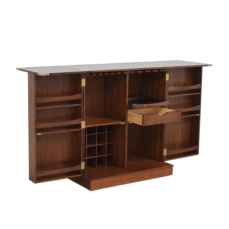 Crate & Barrel Crate & Barrel Maxine Bar Cabinet pa