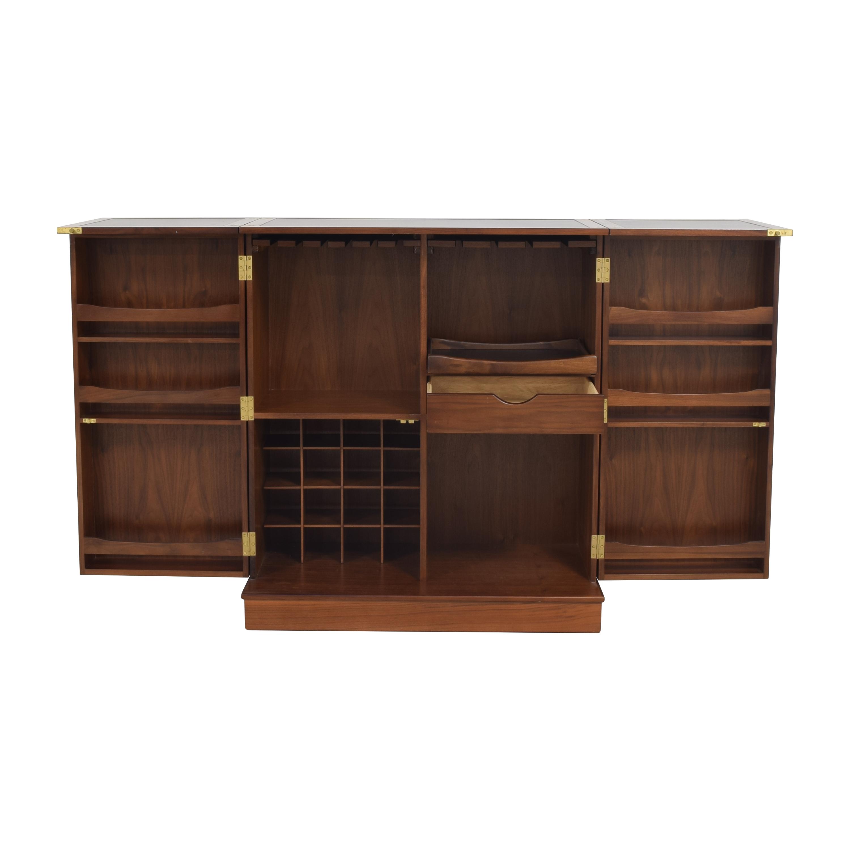Crate & Barrel Crate & Barrel Maxine Bar Cabinet second hand