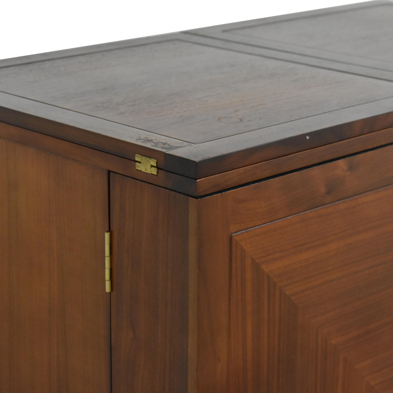 Crate & Barrel Crate & Barrel Maxine Bar Cabinet nyc
