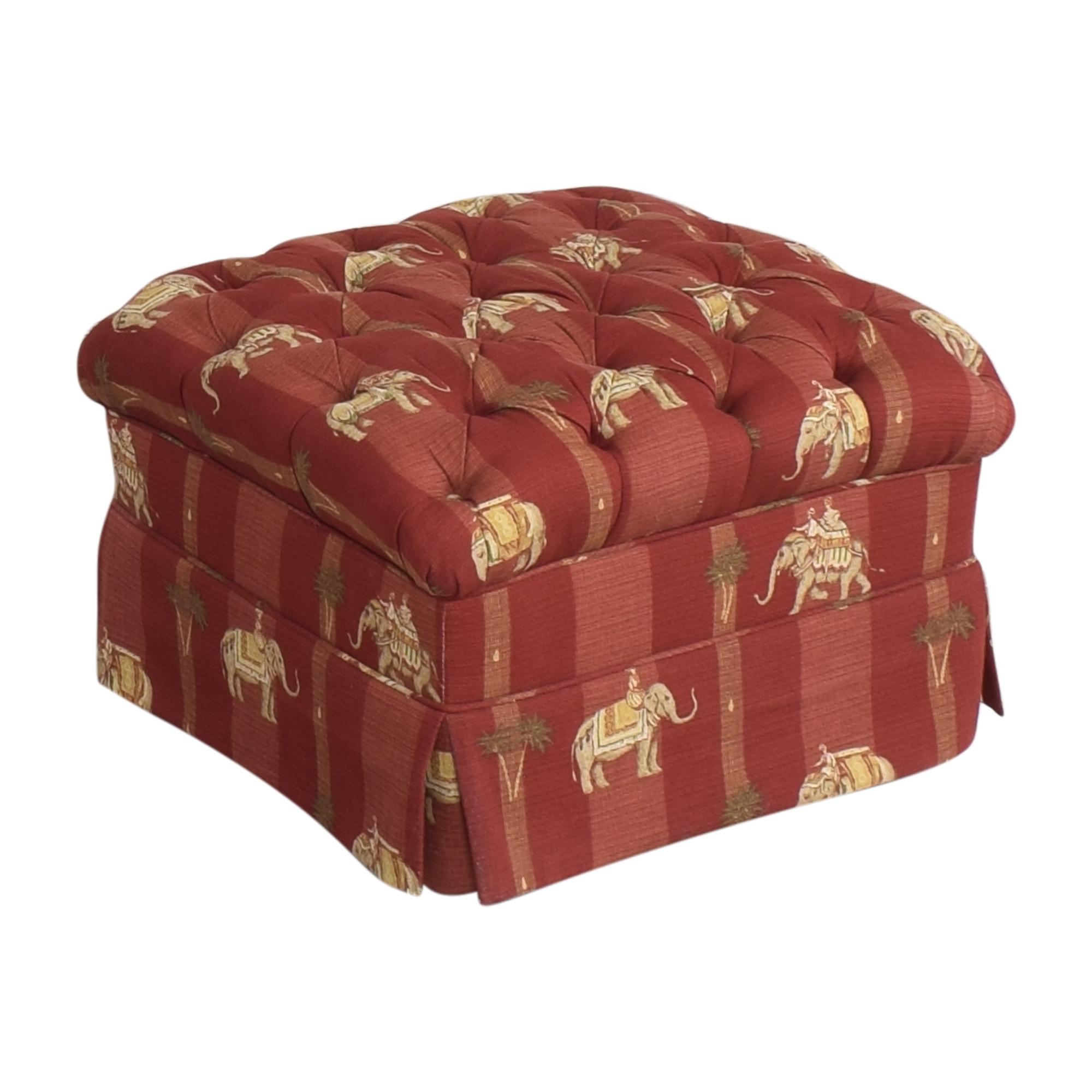 buy Custom Tufted Ottoman