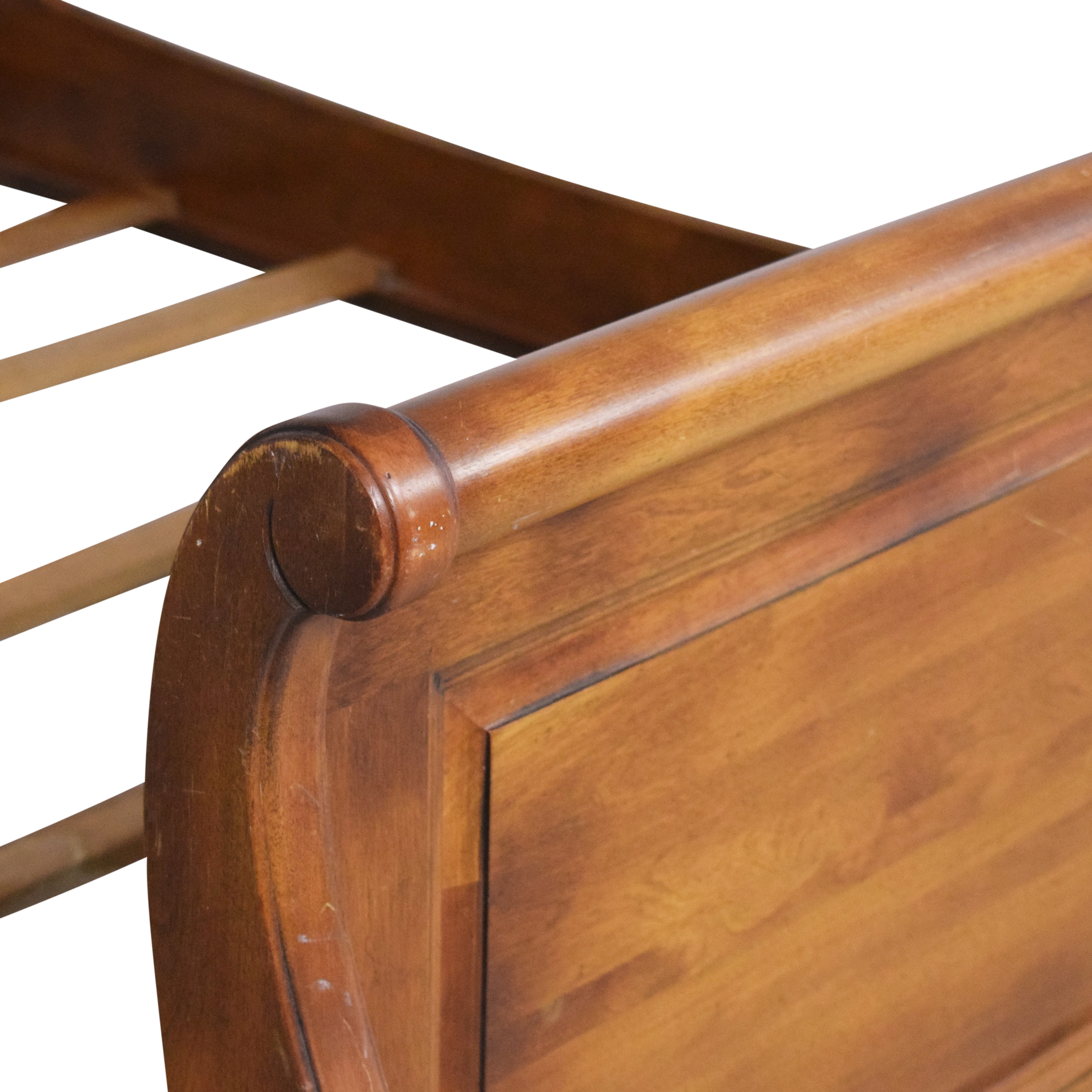 Ethan Allen Country French Full Sleigh Bed Ethan Allen