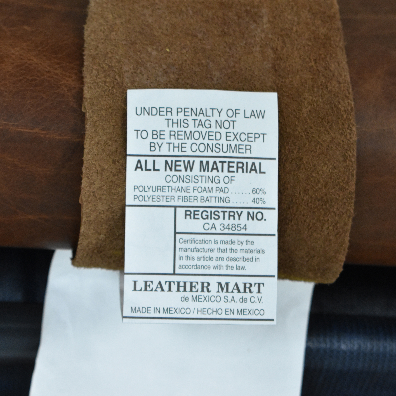 Leather Mart Leather Mart Roll Arm Sleeper Sofa ct