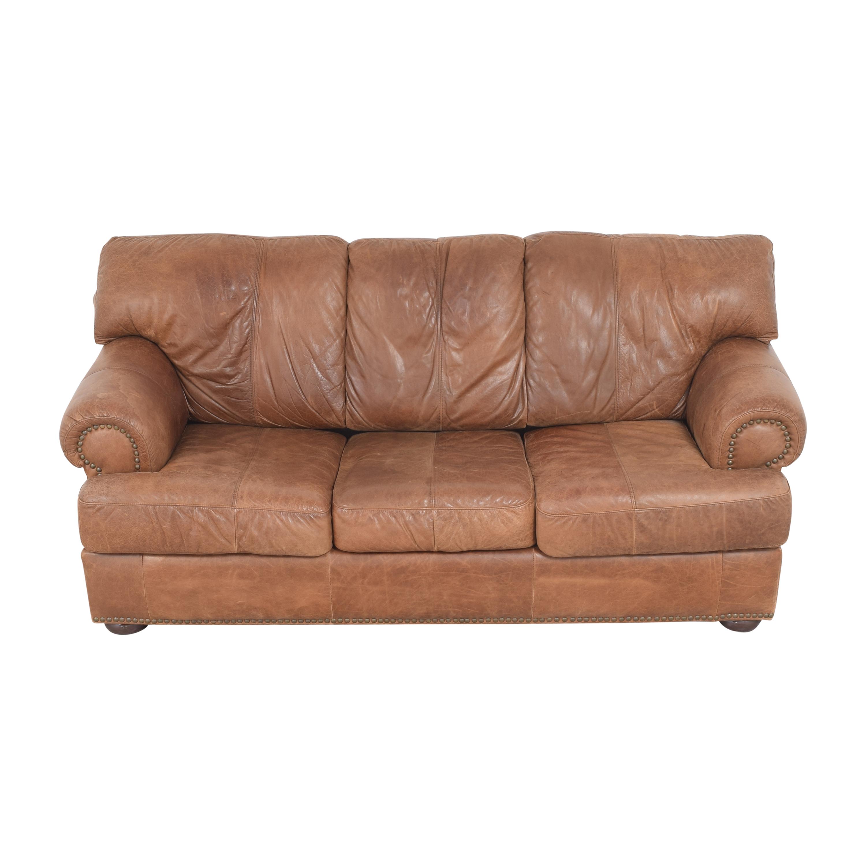 Leather Mart Leather Mart Roll Arm Sleeper Sofa price