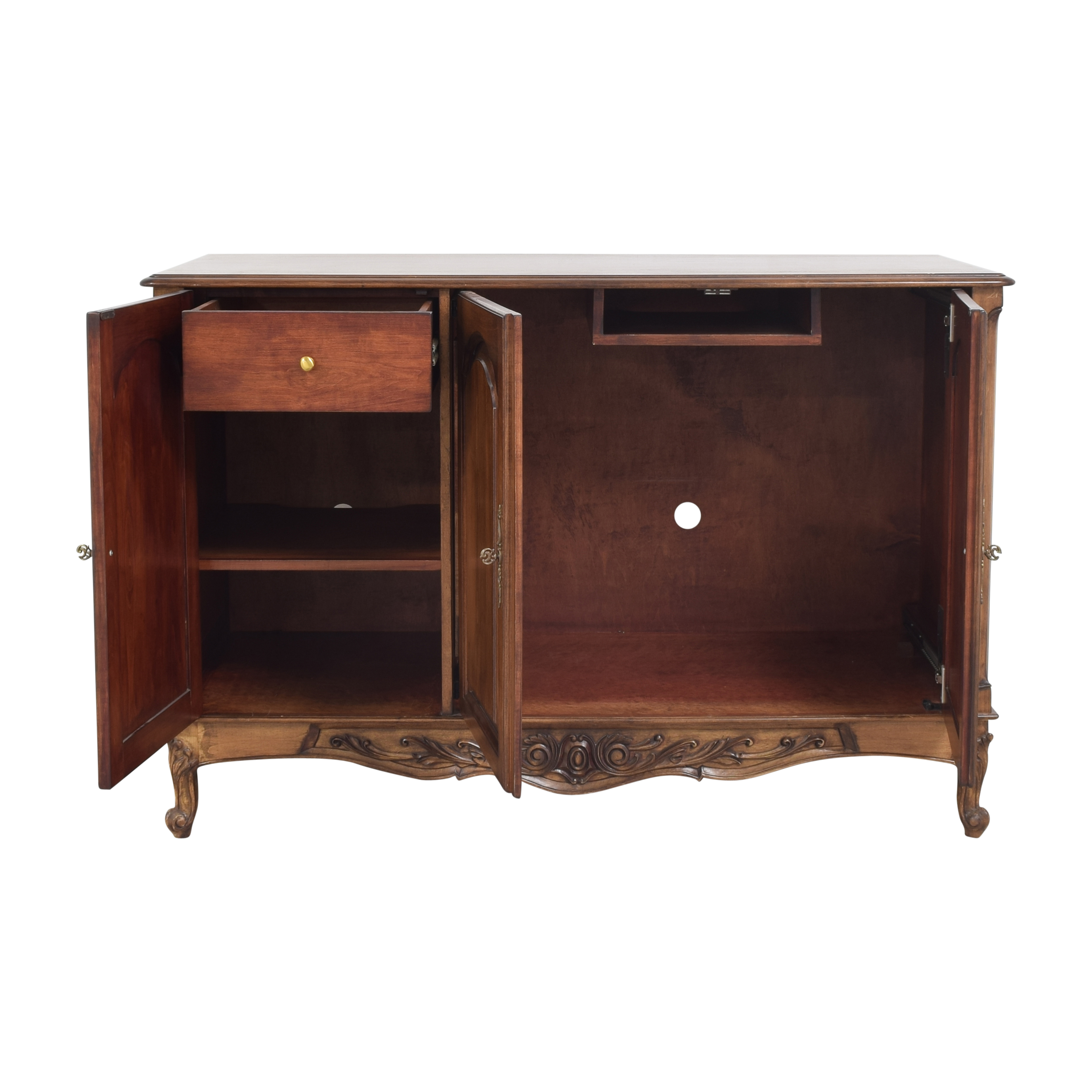 Custom Carved Sideboard second hand