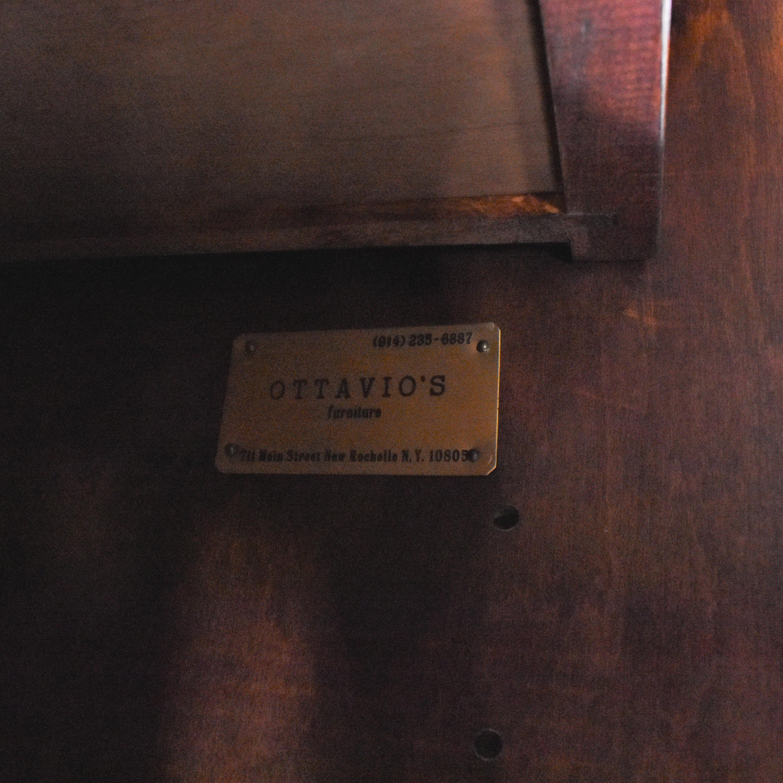 Custom Carved Sideboard ct