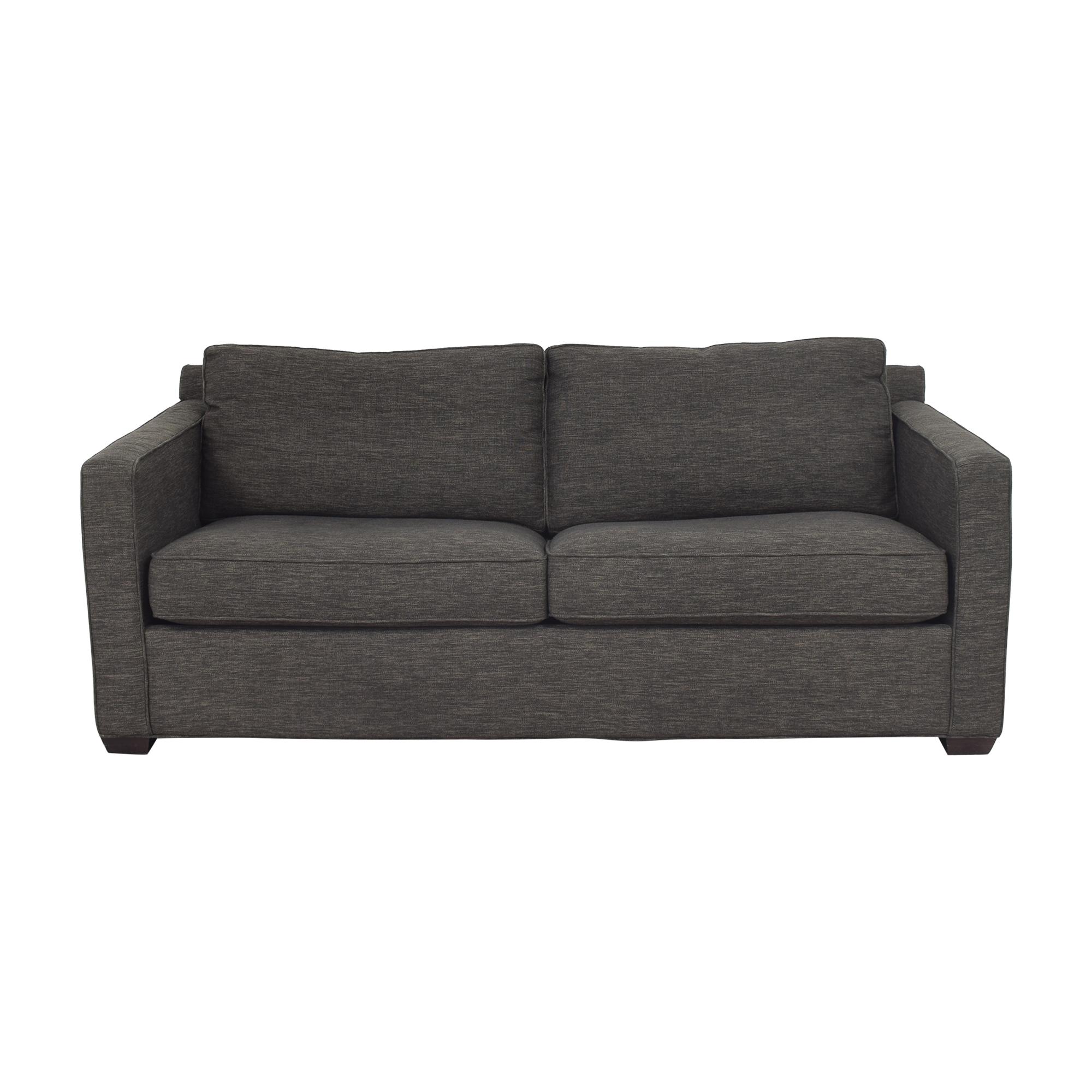 buy Crate & Barrel Davis Queen Sleeper Sofa Crate & Barrel