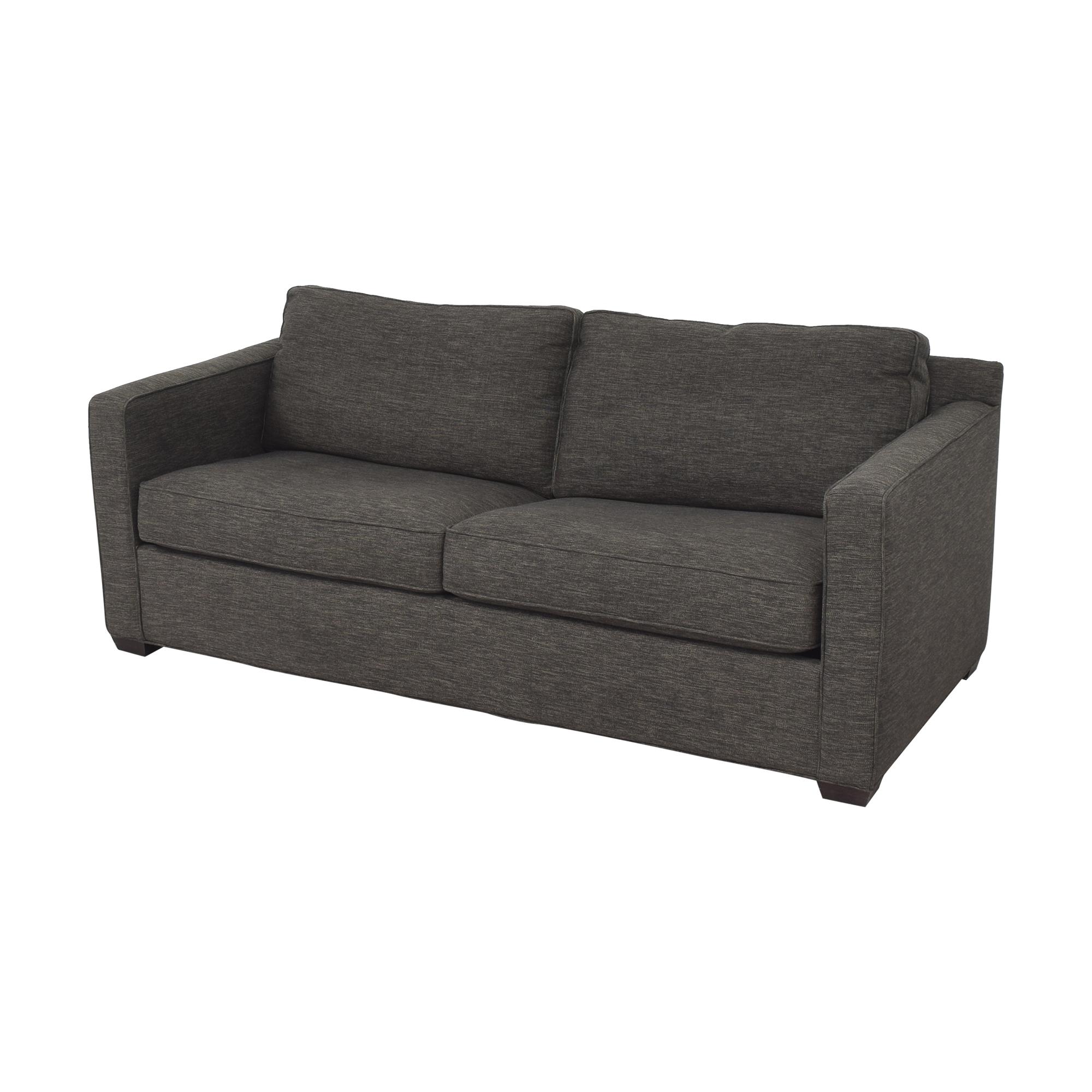 Crate & Barrel Crate & Barrel Davis Queen Sleeper Sofa