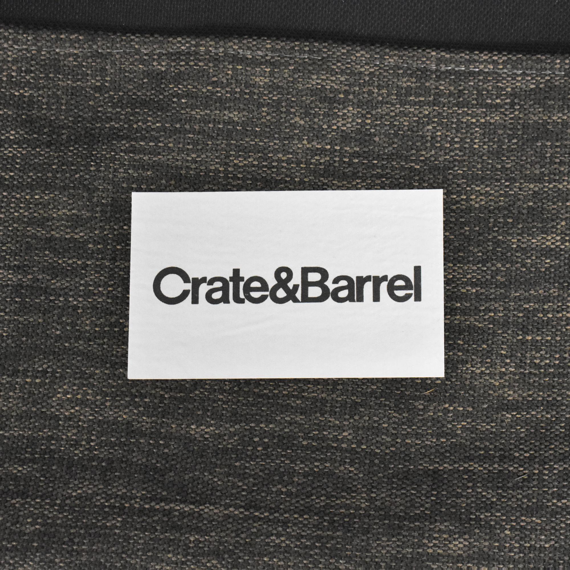 Crate & Barrel Davis Queen Sleeper Sofa Crate & Barrel