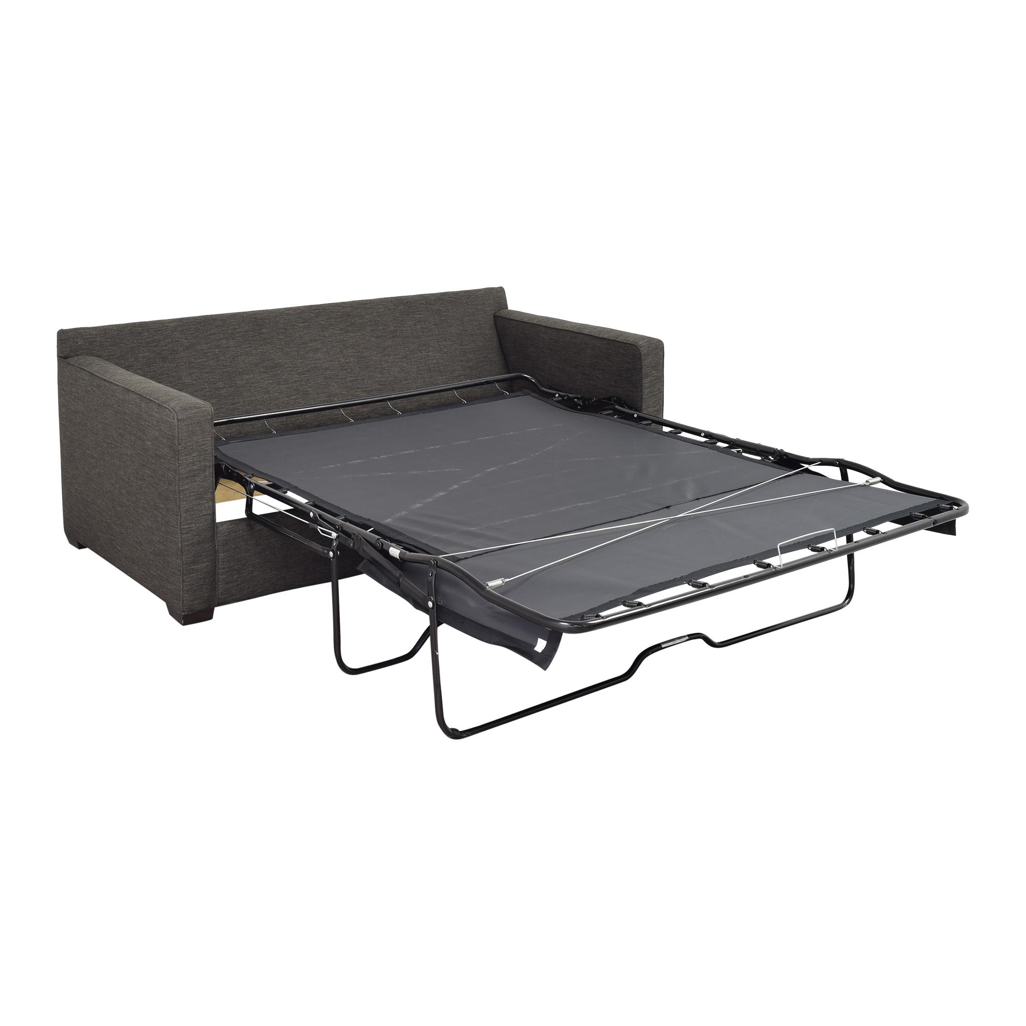 shop Crate & Barrel Davis Queen Sleeper Sofa Crate & Barrel Sofa Beds