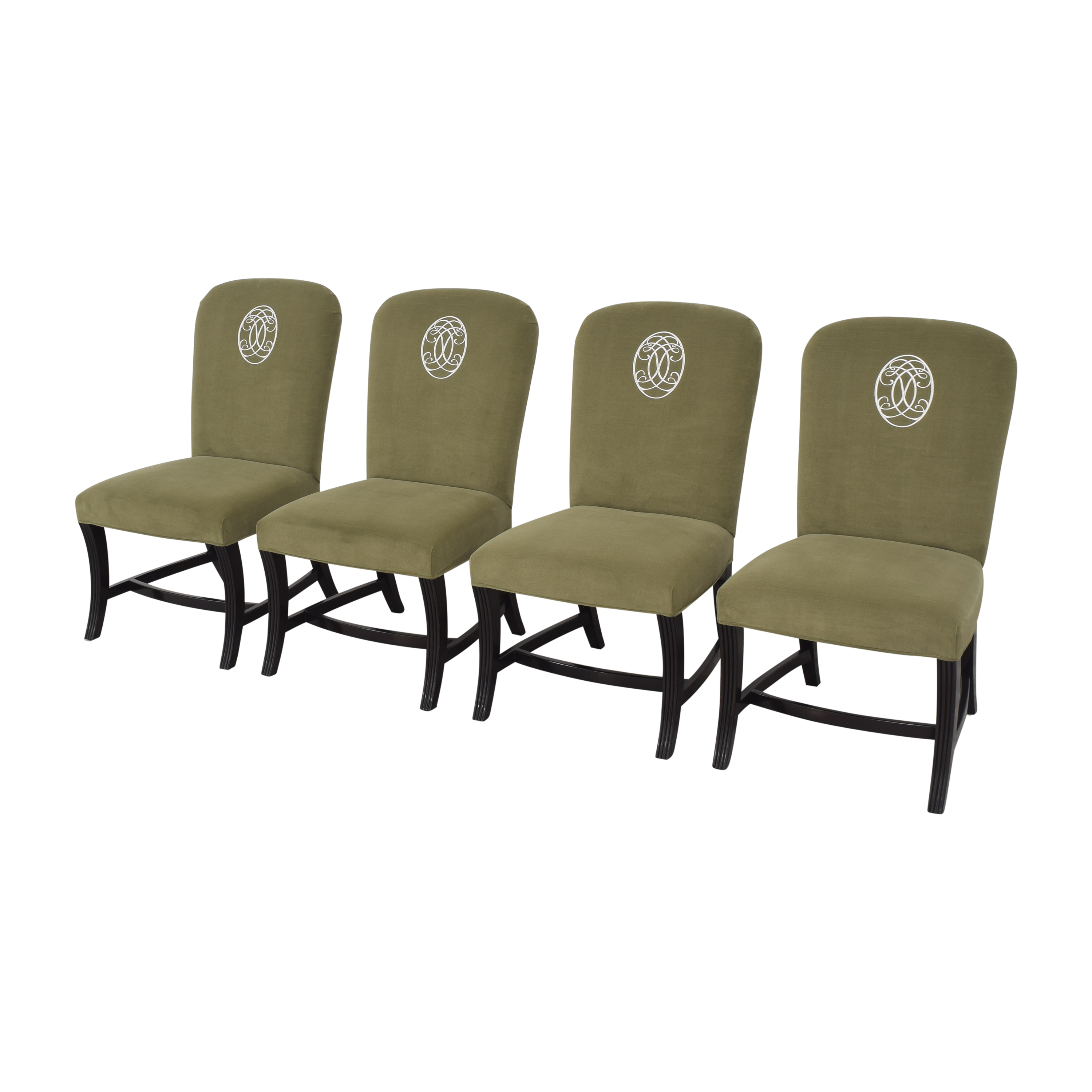 Drexel Heritage Drexel Heritage Upholstered Dining Chairs pa