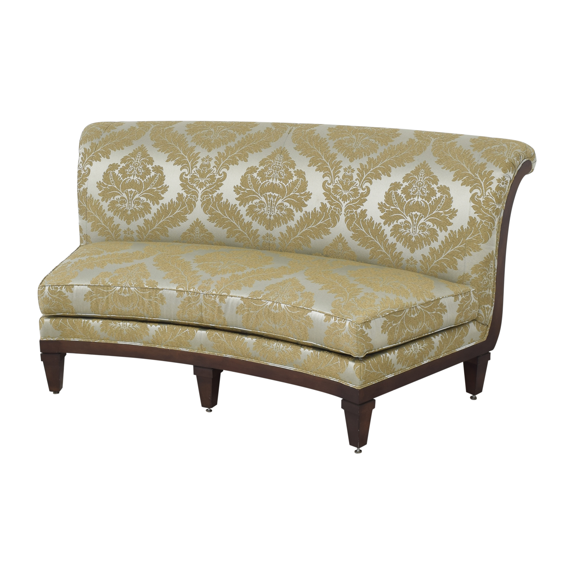 Drexel Heritage Drexel Heritage Curved Banquette used