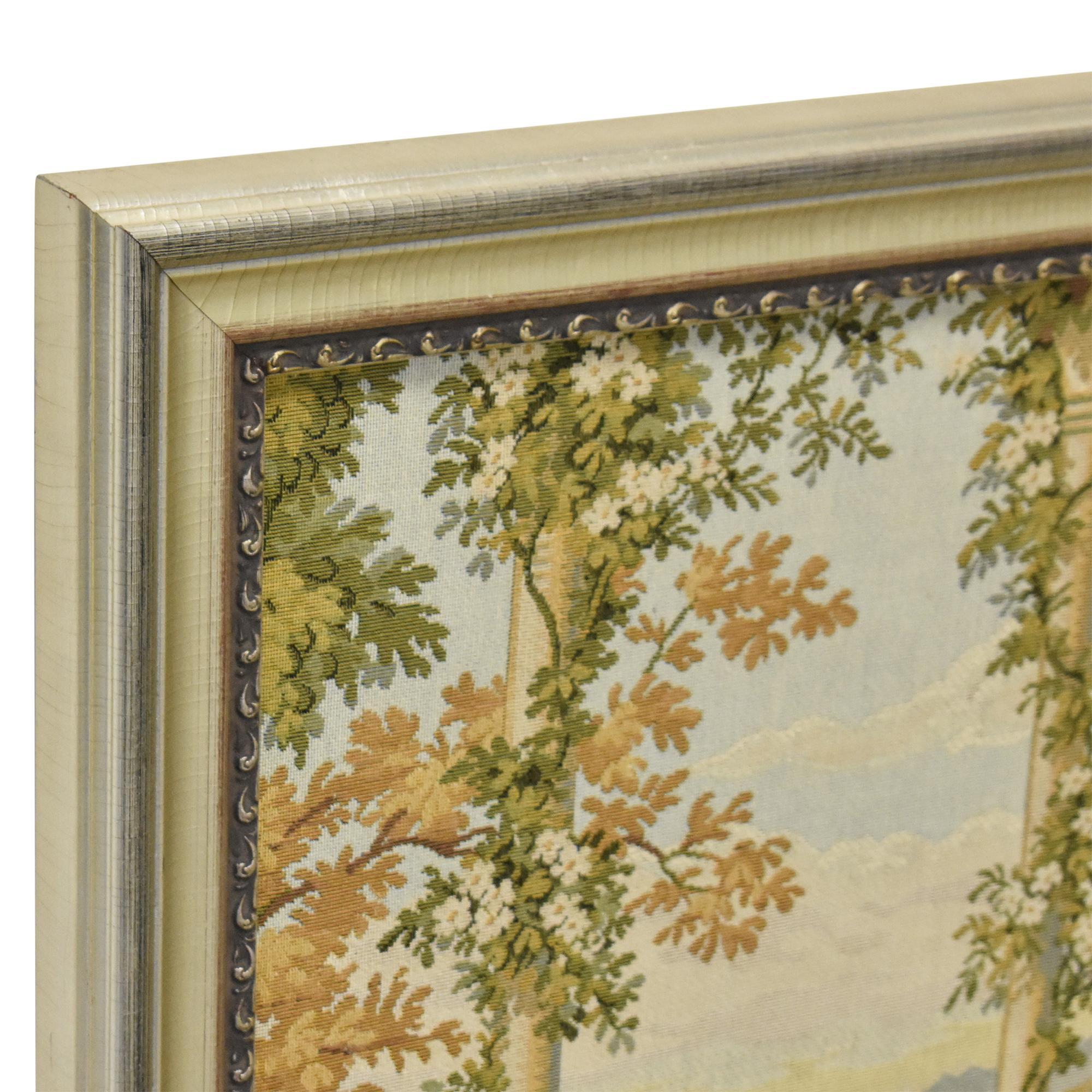 Framed Lake Como Tapestry dimensions