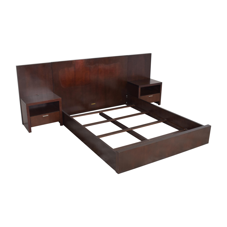 Ethan Allen Ethan Allen Morgan Panel Queen Bed with Nightstands coupon