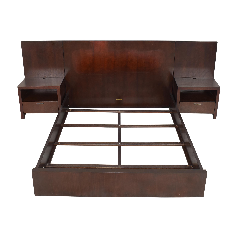 Ethan Allen Ethan Allen Morgan Panel Queen Bed with Nightstands ct
