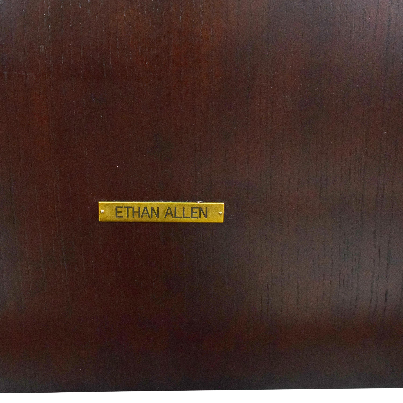 Ethan Allen Ethan Allen Morgan Panel Queen Bed with Nightstands dimensions