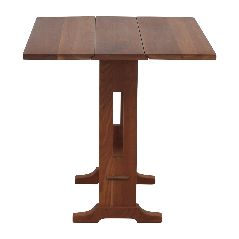 Stickley Furniture Stickley Furniture Mission-Style Drop Leaf Table ma