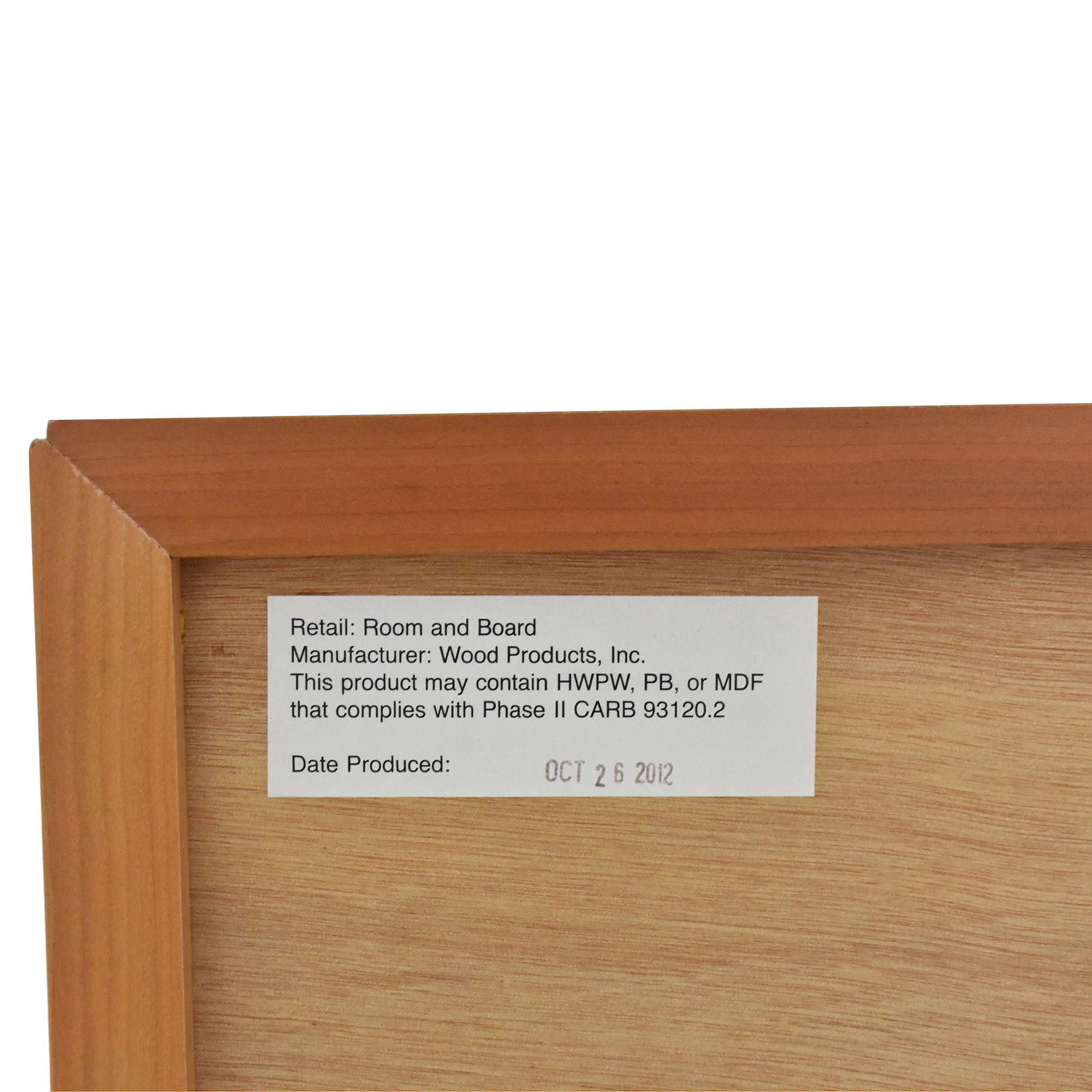 Room & Board Copenhagen Bookcase / Storage