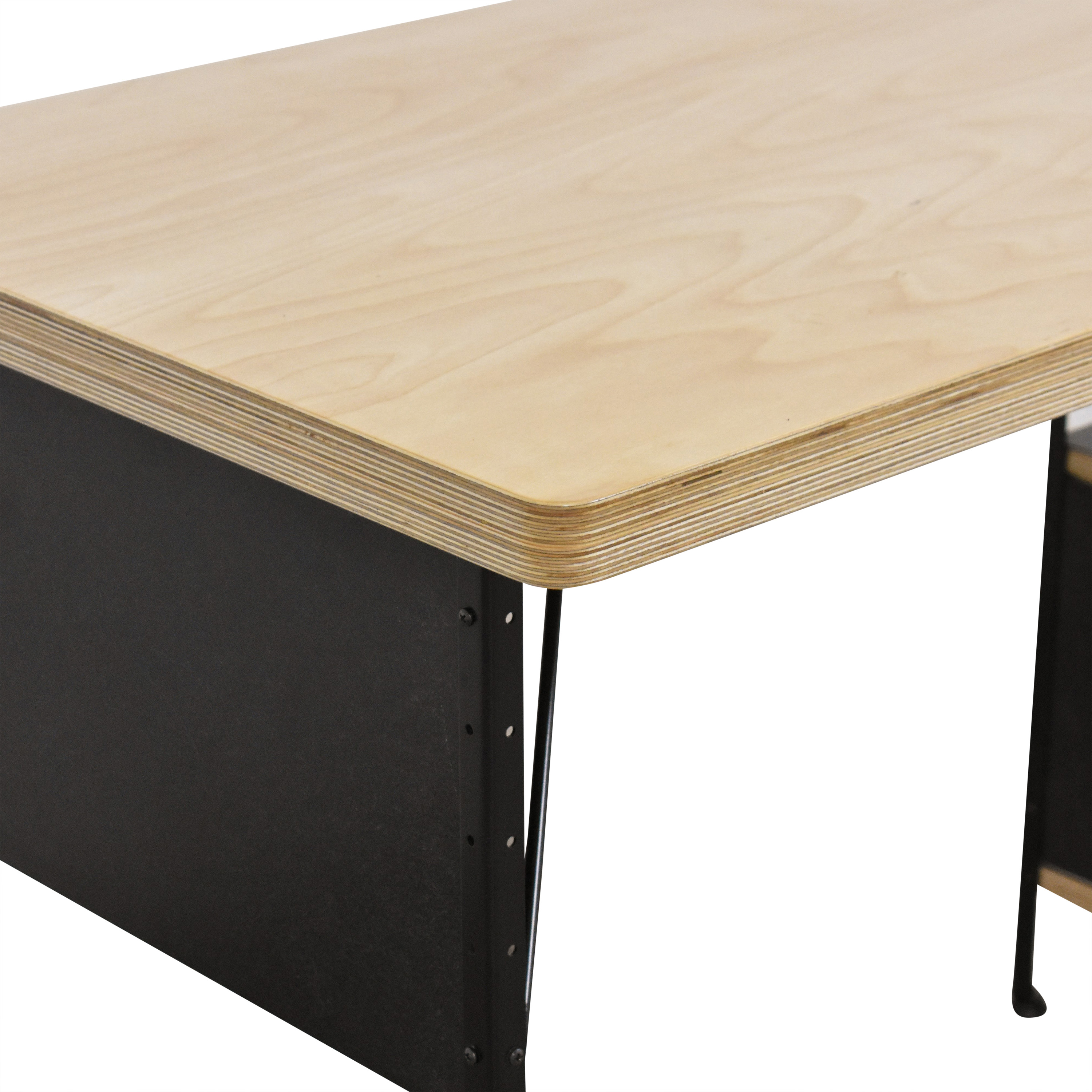 Modernica Modernica Case Study Furniture Desk with 3 Drawers ct