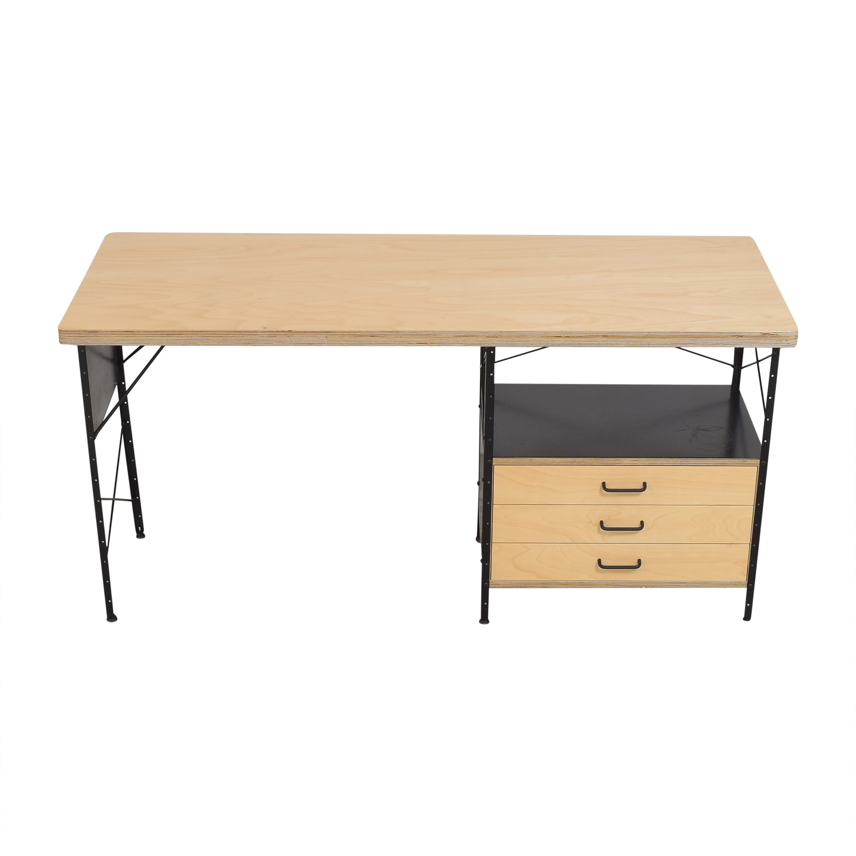 Modernica Modernica Case Study Furniture Desk with 3 Drawers for sale