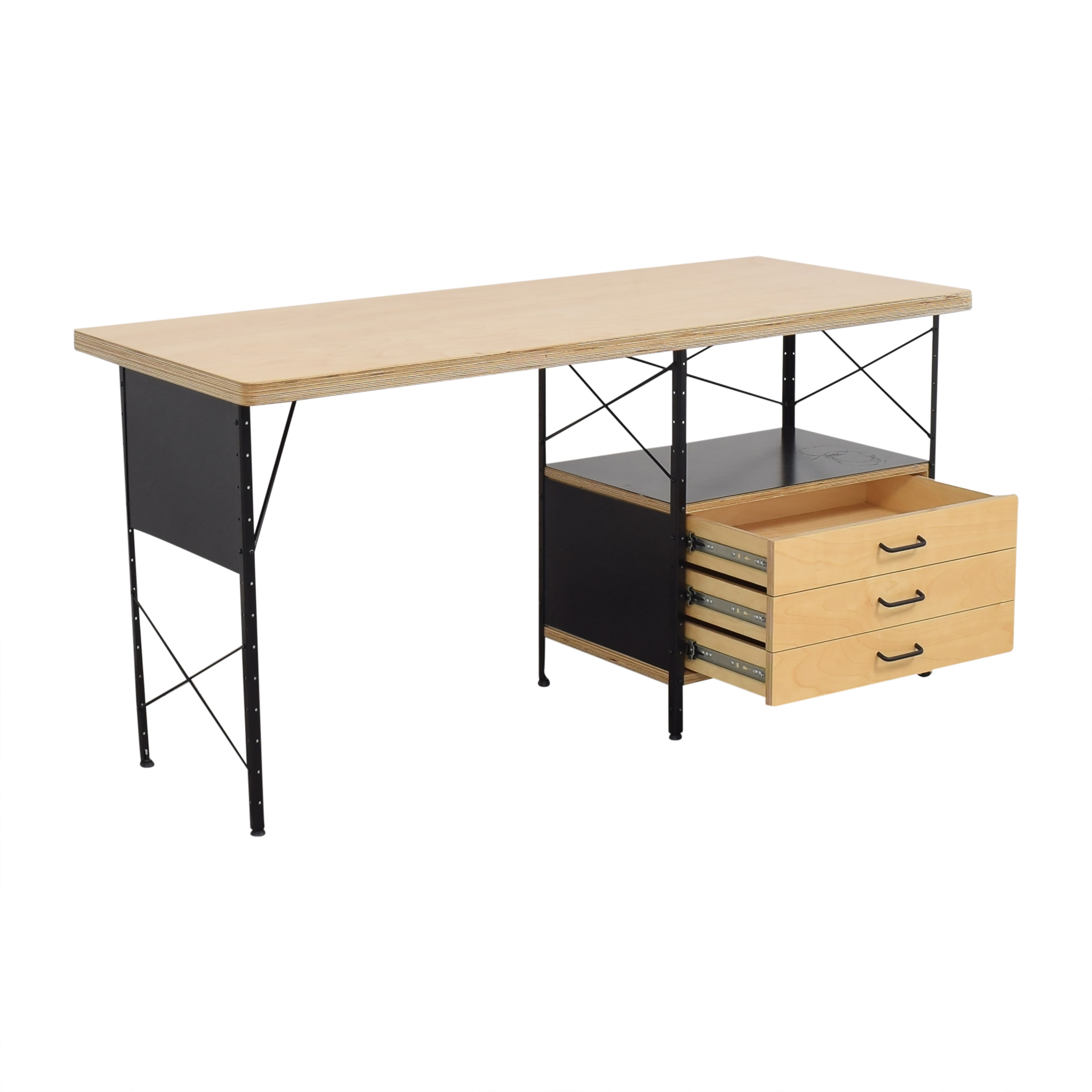 shop Modernica Modernica Case Study Furniture Desk with 3 Drawers online