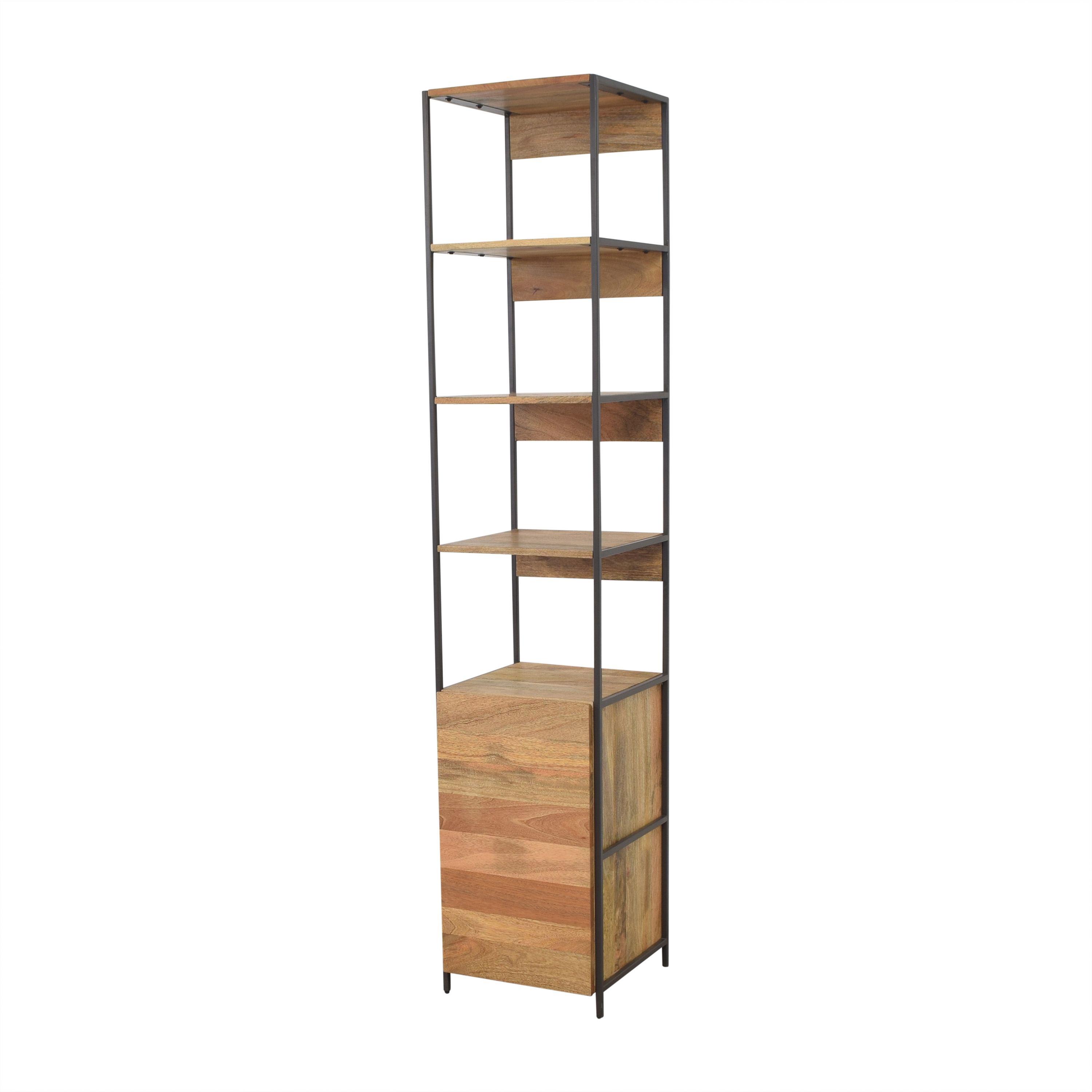 West Elm West Elm Industrial Modular Open and Closed Storage coupon
