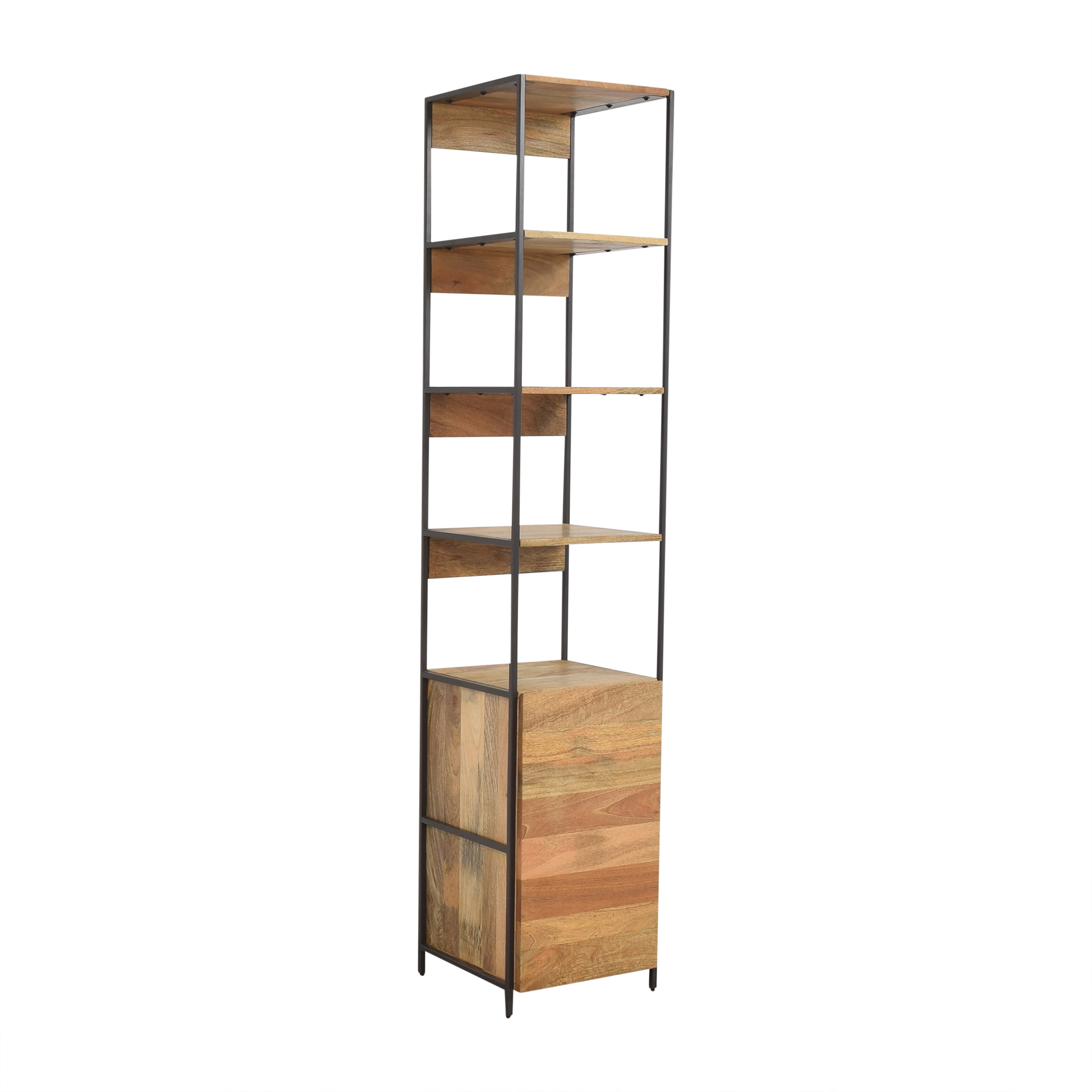 West Elm West Elm Industrial Modular Open and Closed Storage pa