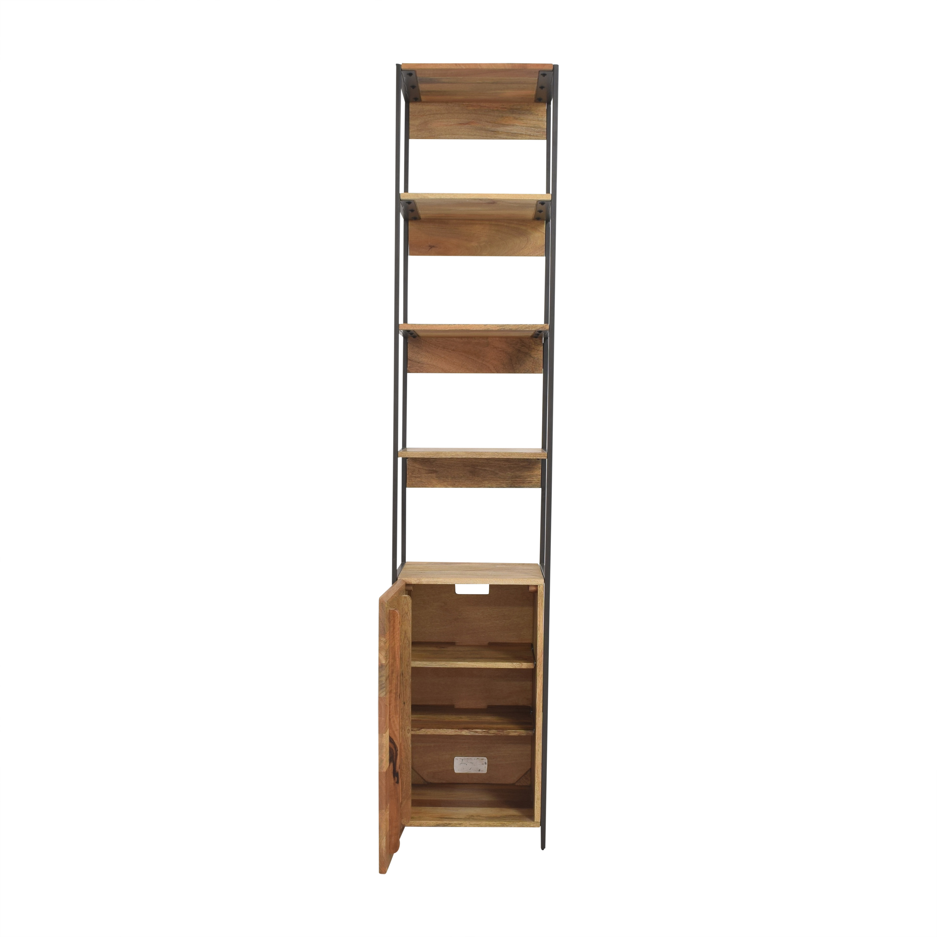 buy West Elm Industrial Modular Open and Closed Storage West Elm Bookcases & Shelving