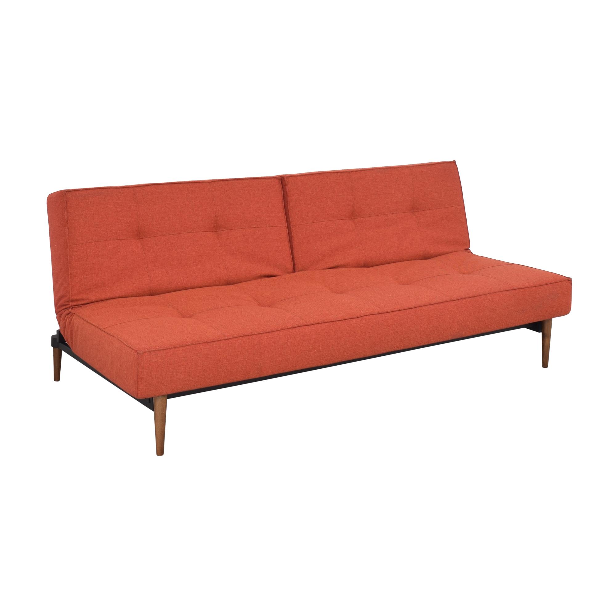 Innovation Living Innovation Living Splitback Convertible Sofa Bed red