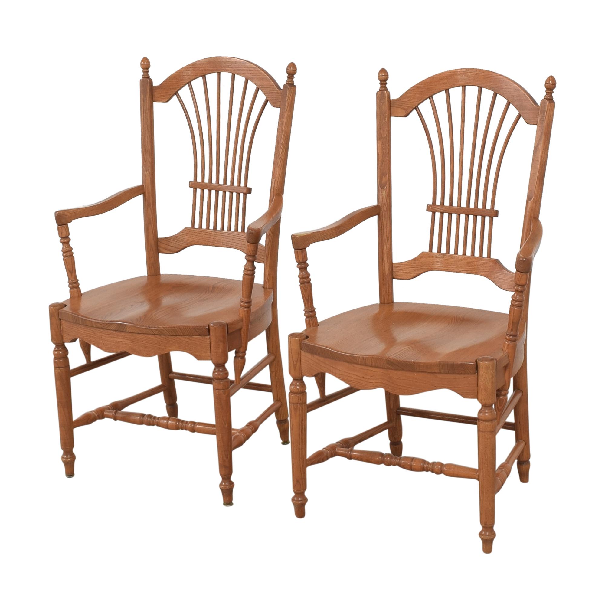 Pennsylvania House Pennsylvania House Sheaf Back Dining Arm Chairs price