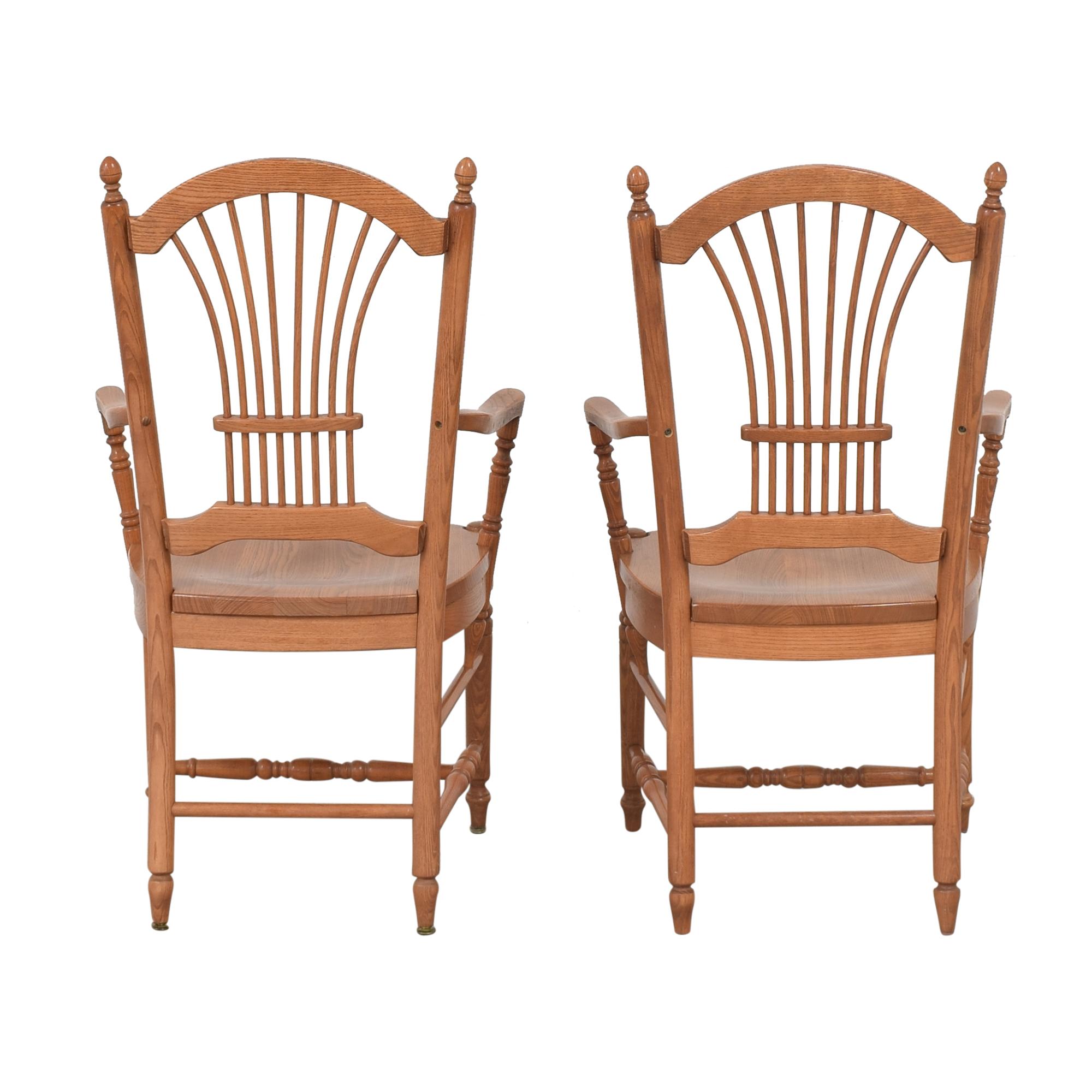 buy Pennsylvania House Sheaf Back Dining Arm Chairs Pennsylvania House Dining Chairs