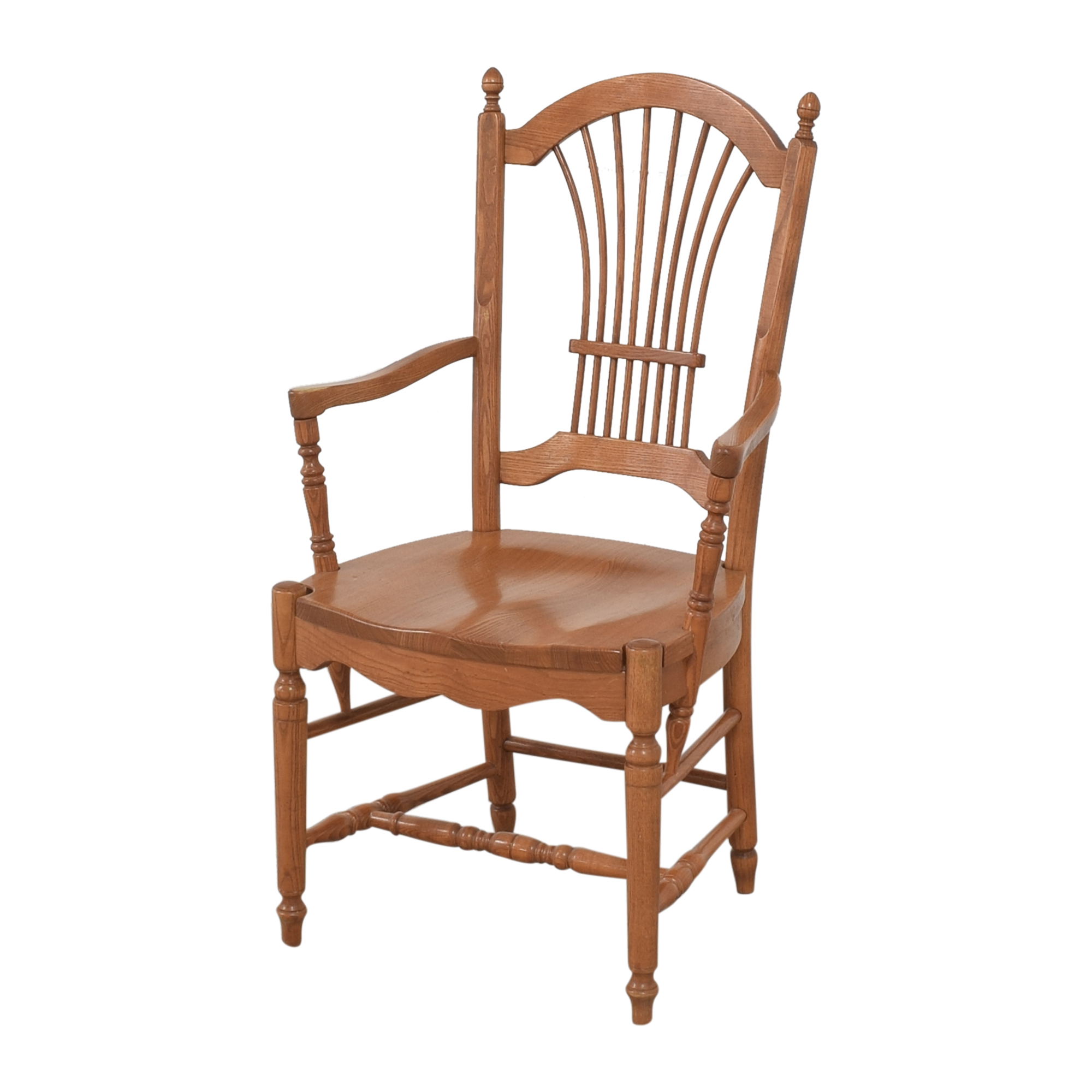 Pennsylvania House Sheaf Back Dining Arm Chairs sale