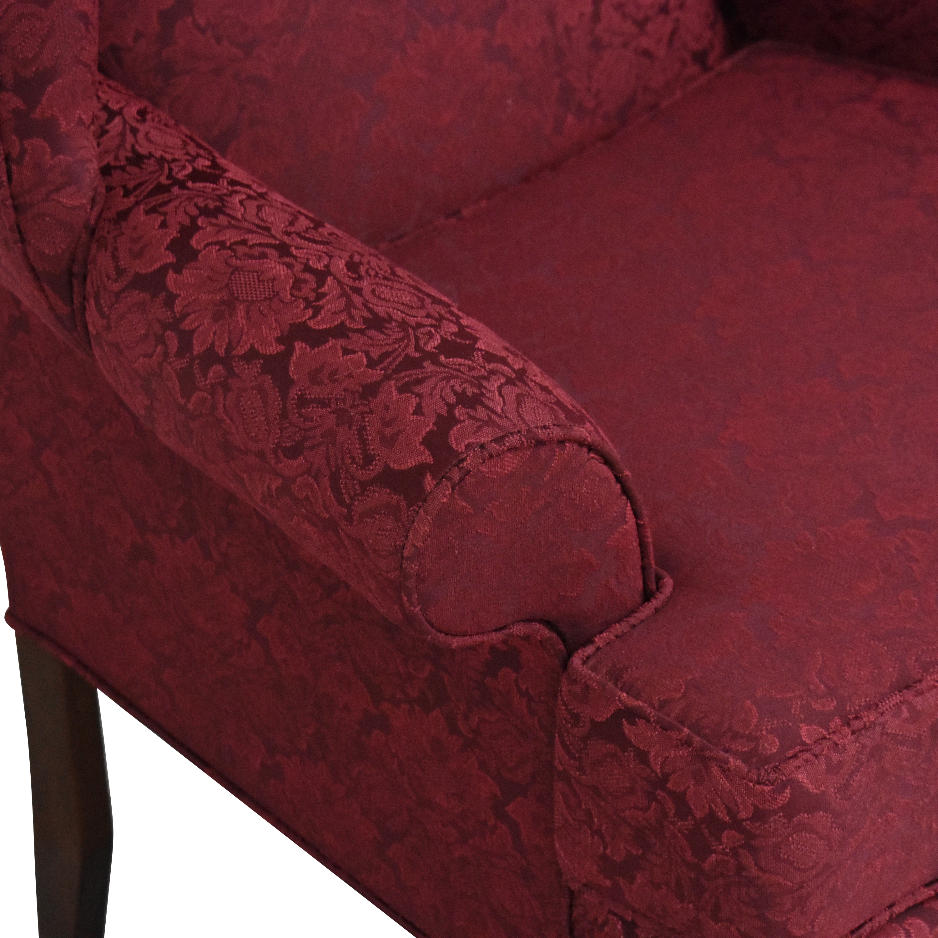 Crystal Furniture Crystal Furniture Wingback Accent Chair