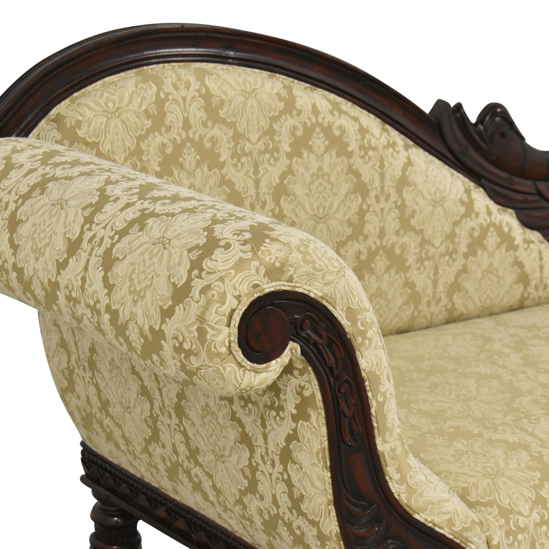 buy Design Toscano Swan Chaise Design Toscano
