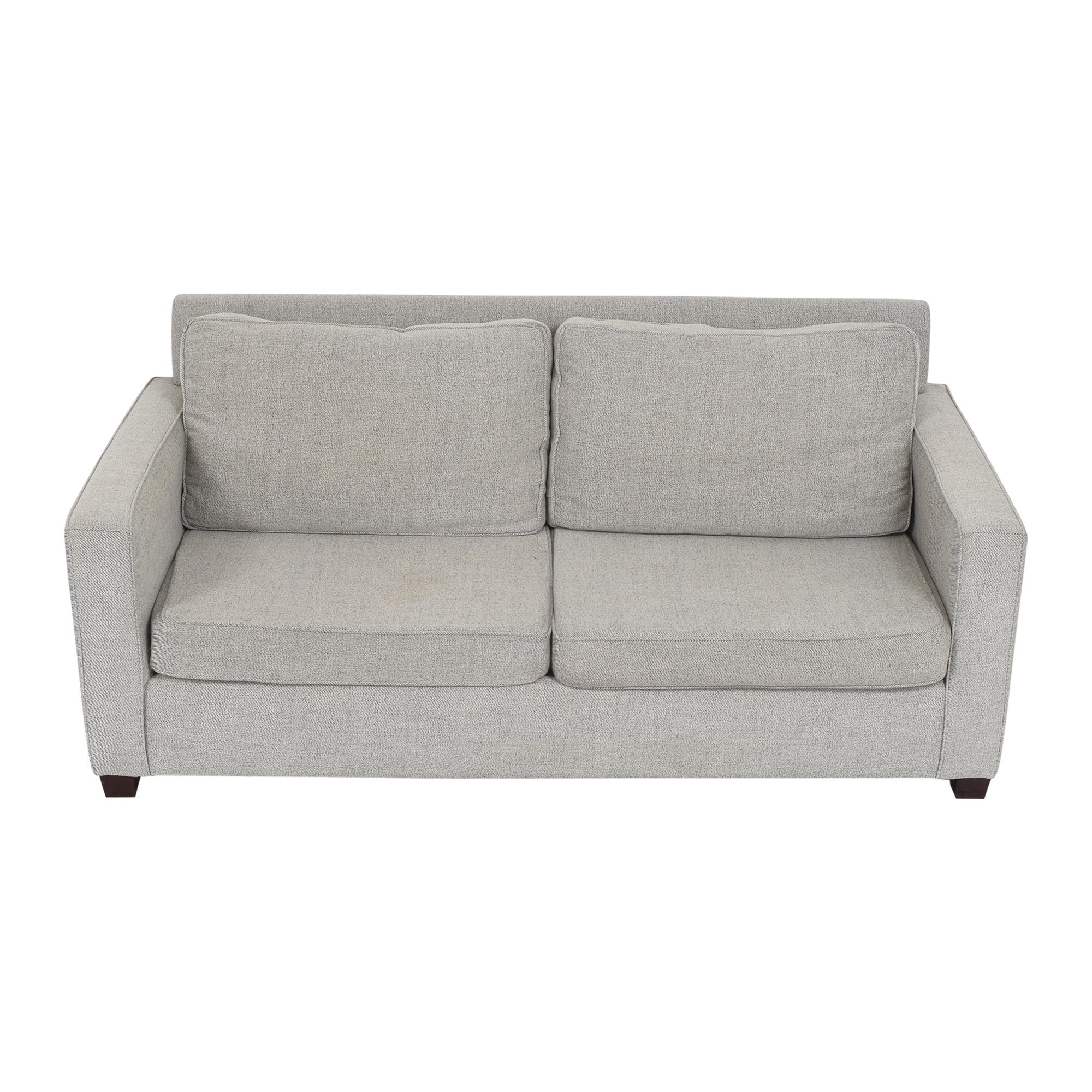 West Elm West Elm Henry Two Cushion Sofa ct
