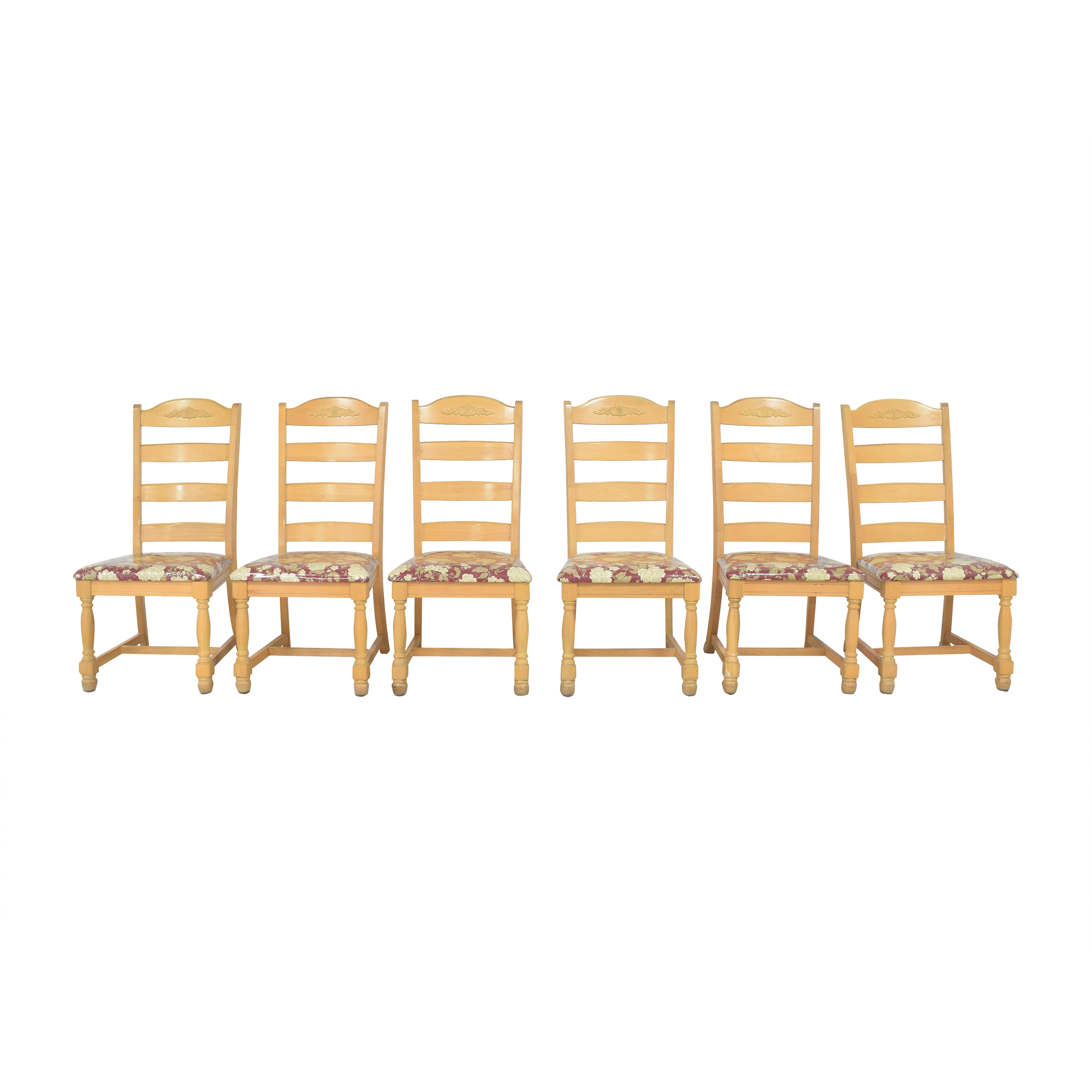 Broyhill Ladderback Dining Chairs sale