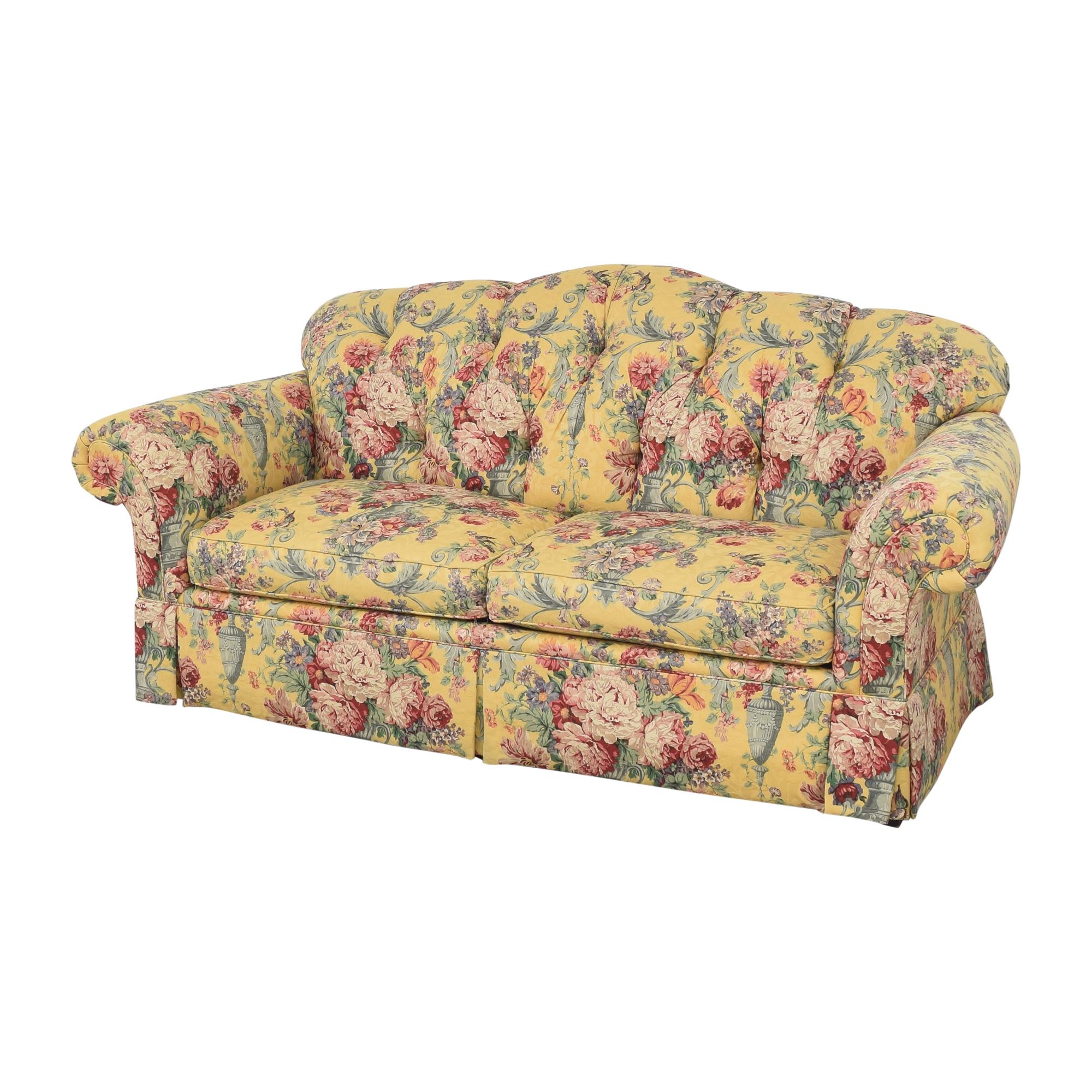 Lexington Furniture Lexington Floral Skirted Sofa second hand