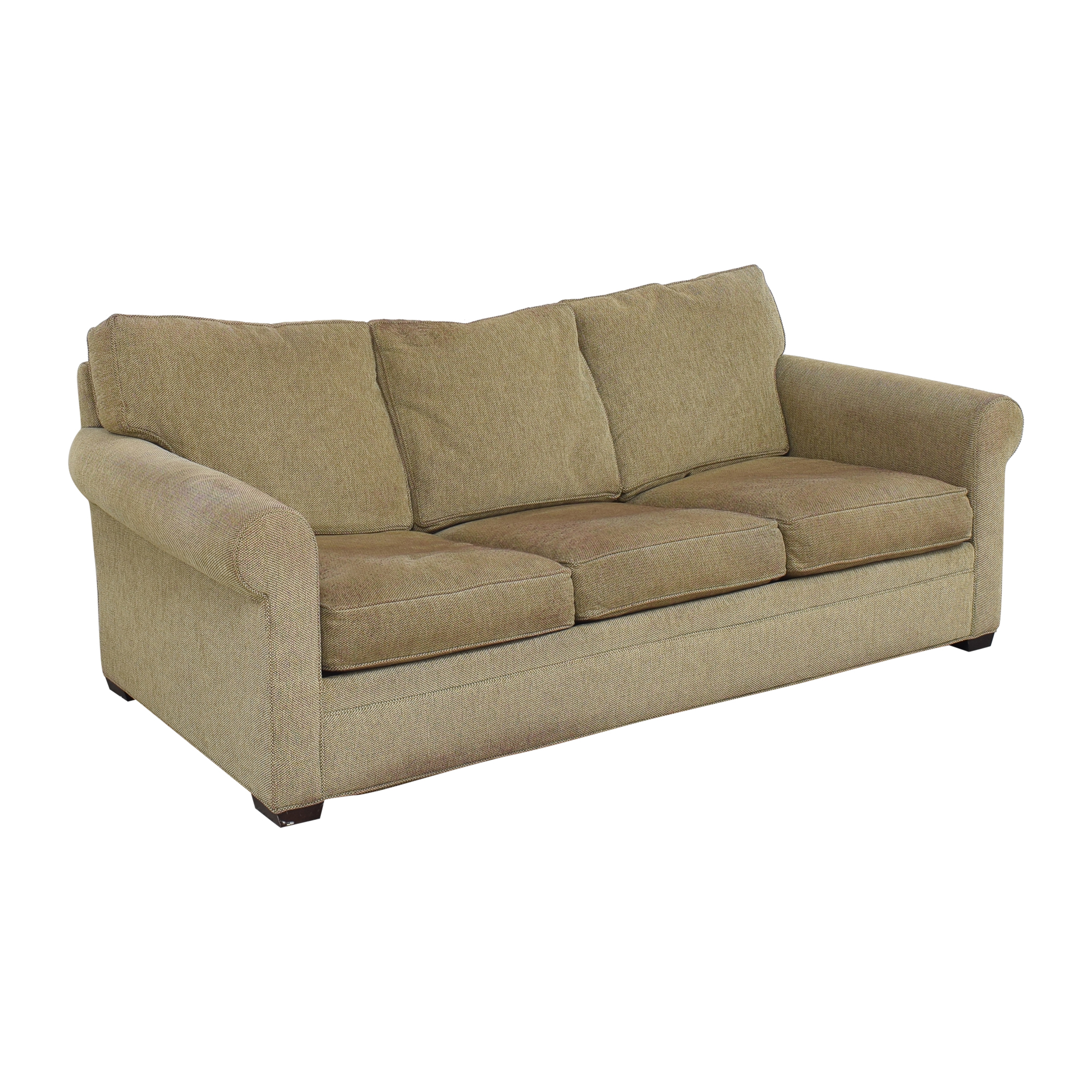 Crate & Barrel Crate & Barrel Three Cushion Sleeper Sofa