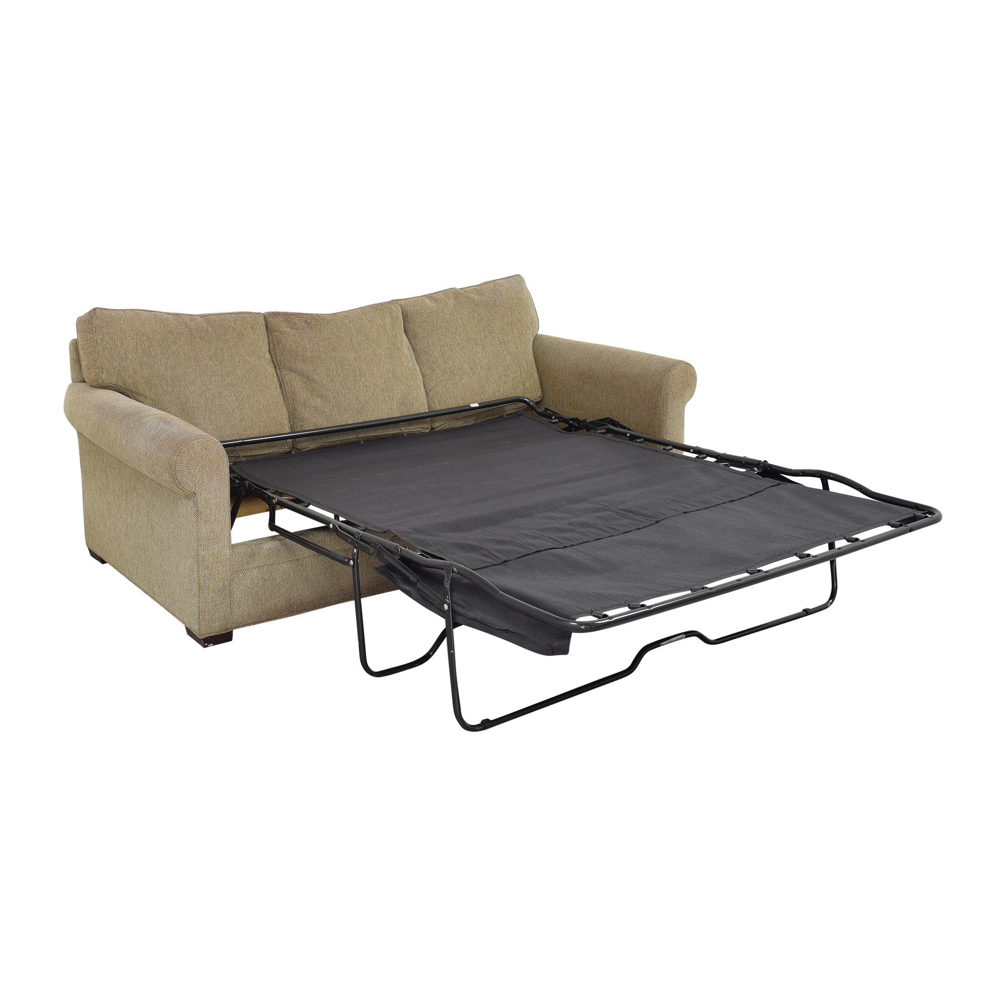 Crate & Barrel Three Cushion Sleeper Sofa sale