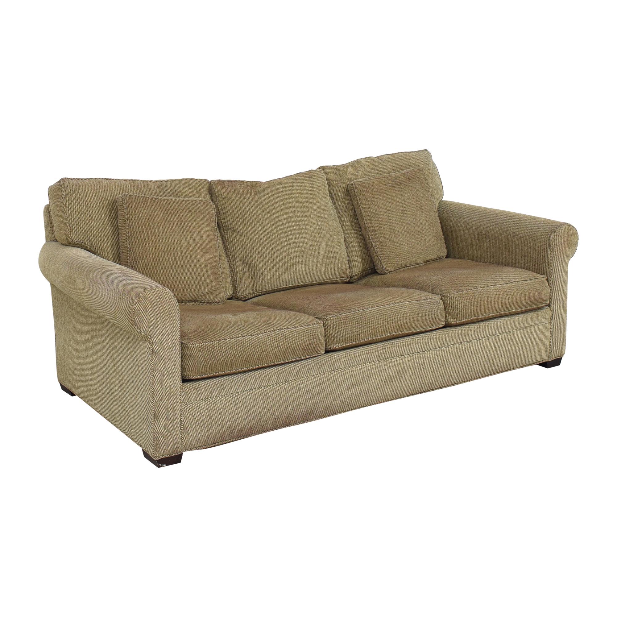 Crate & Barrel Crate & Barrel Three Cushion Sleeper Sofa ma