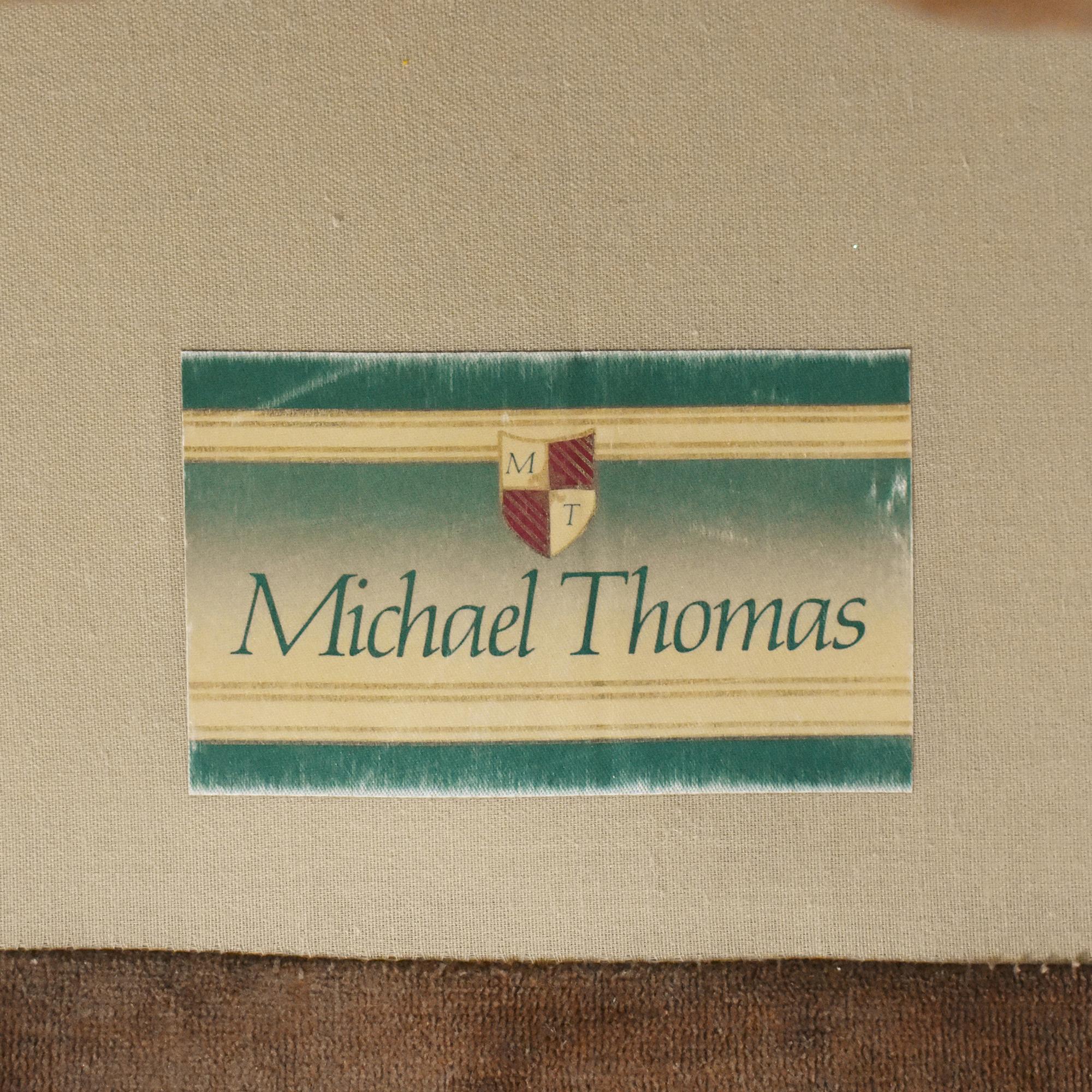 Michael Thomas Michael Thomas Custom Club Chair dimensions