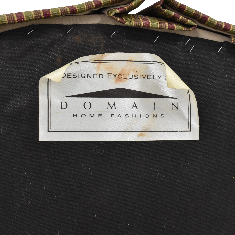 Domain Home Domain Home Round Tufted Ottoman Storage